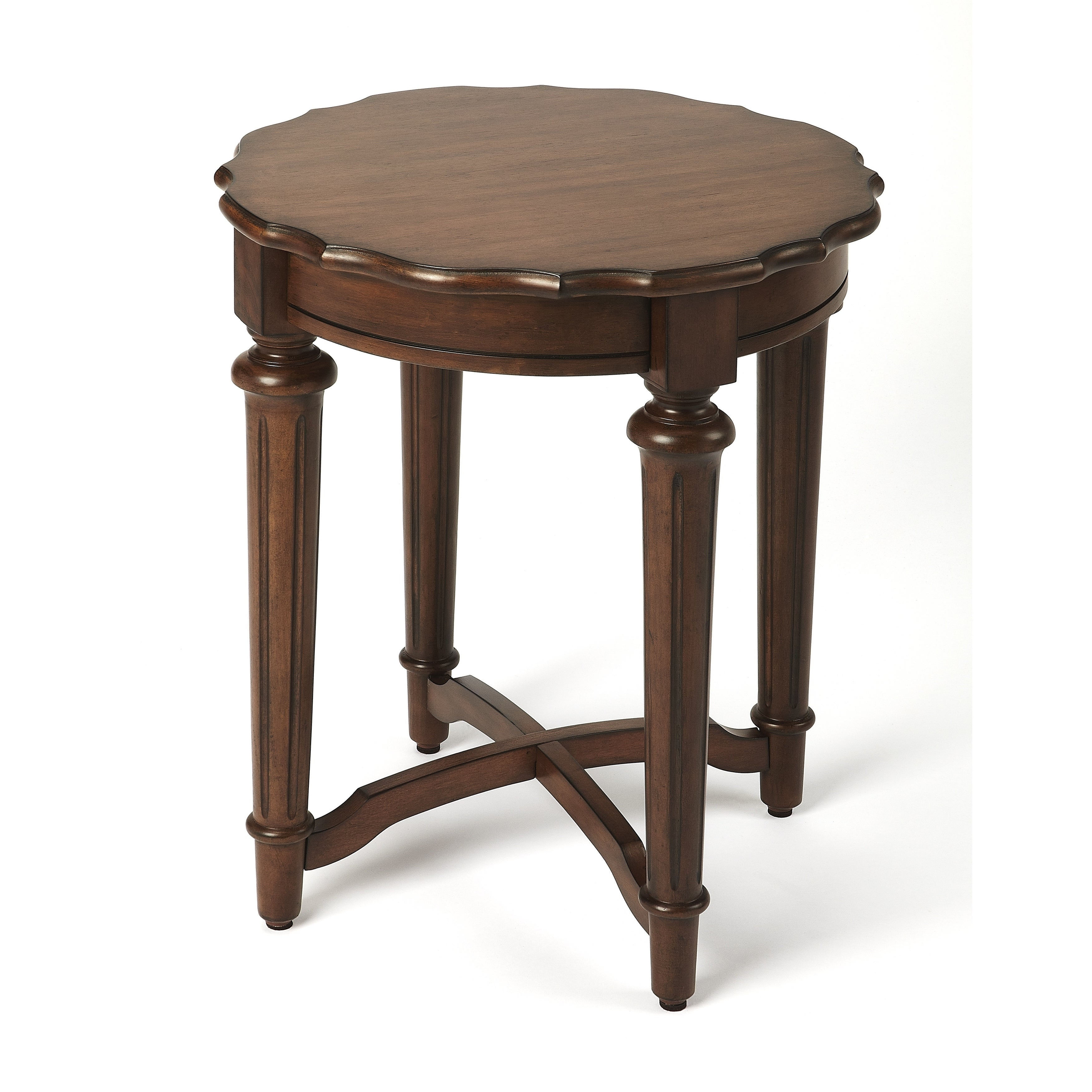 Shop butler kendrick cocoa end table on sale free shipping today overstock com 19267196