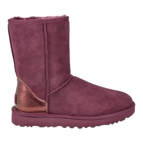 Women's UGG Classic Short II Boot Port Metallic