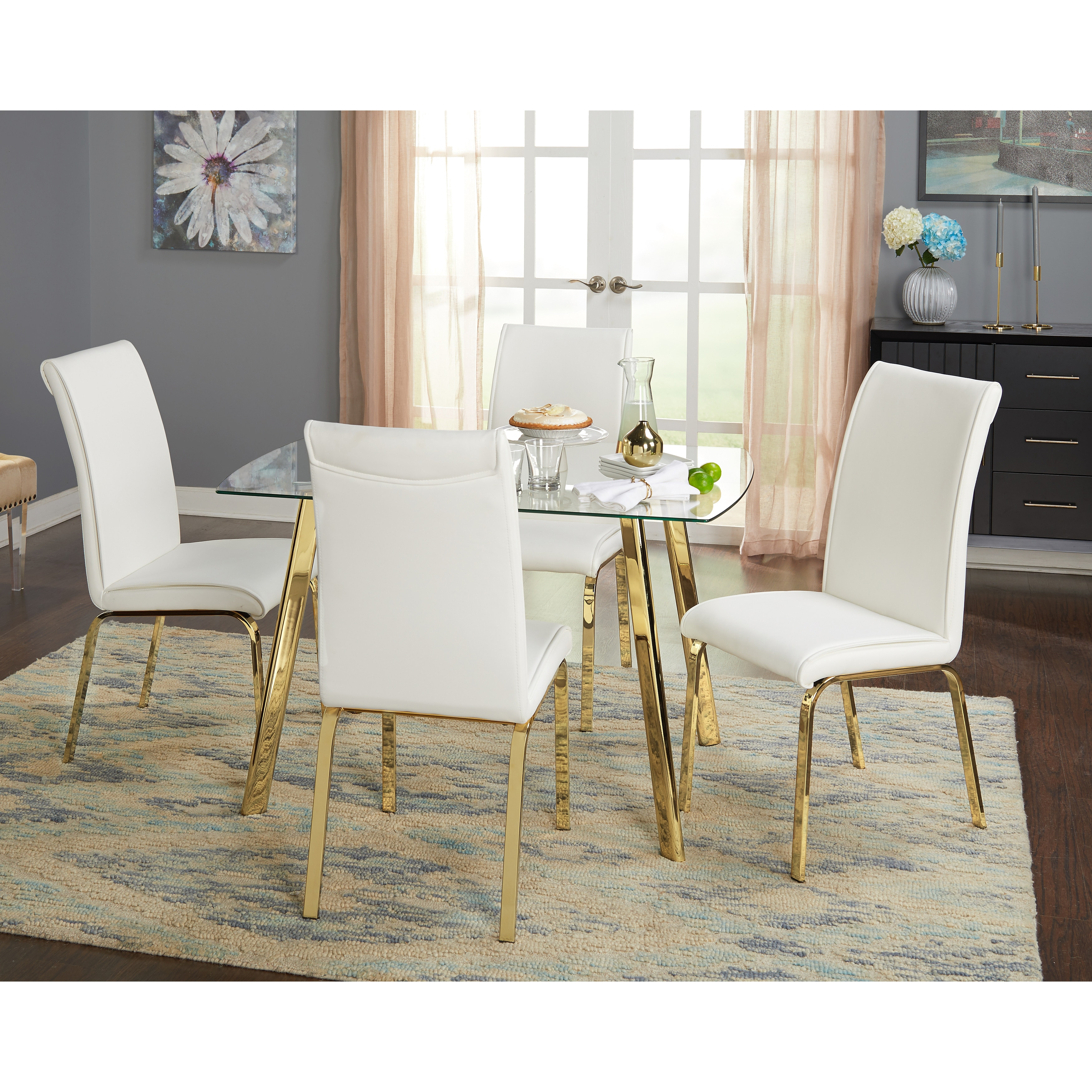 Simple Living 5-Piece Uptown Dining Set - Free Shipping Today ...