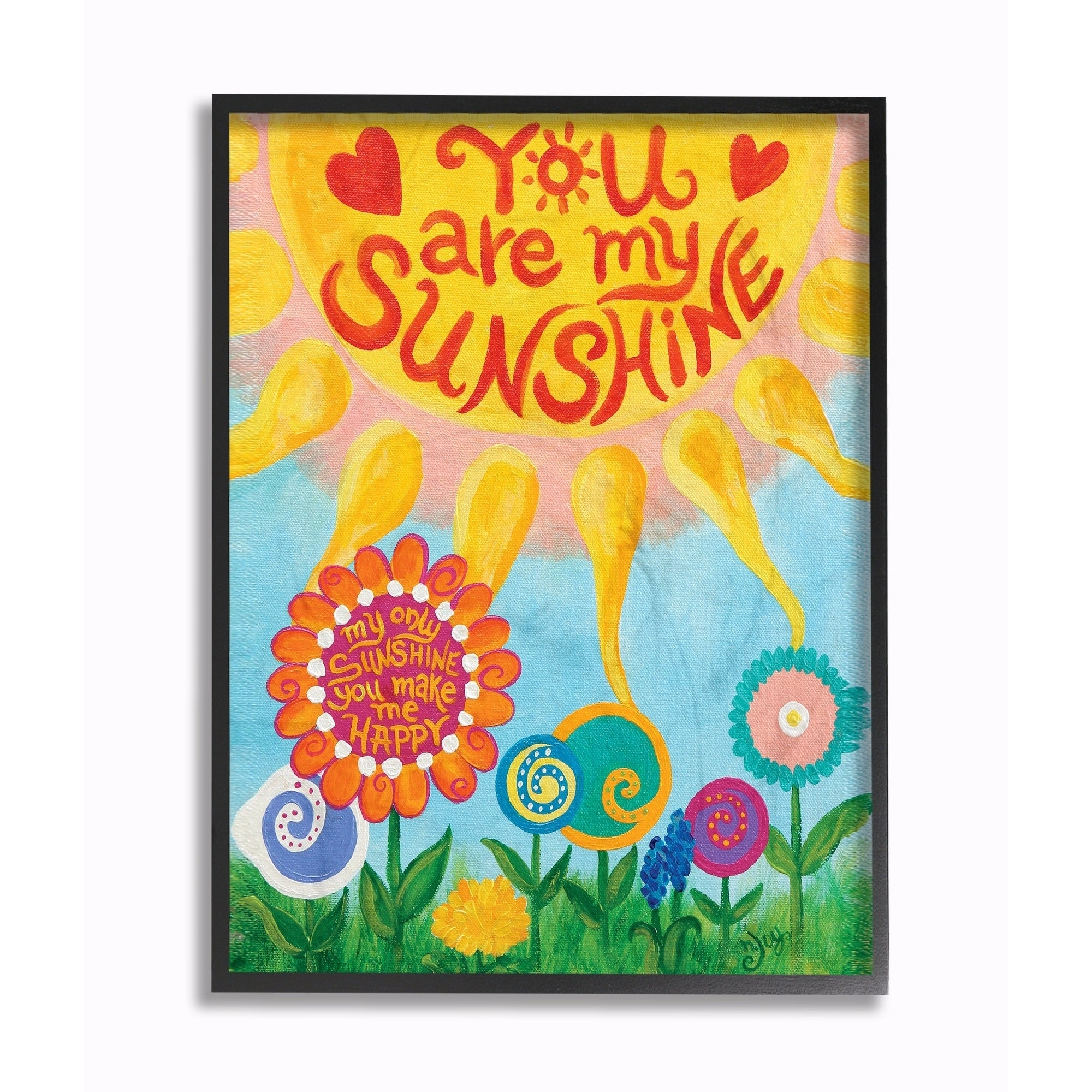 Stupell Industries You Are My Sunshine Wall Art - Free Shipping On ...