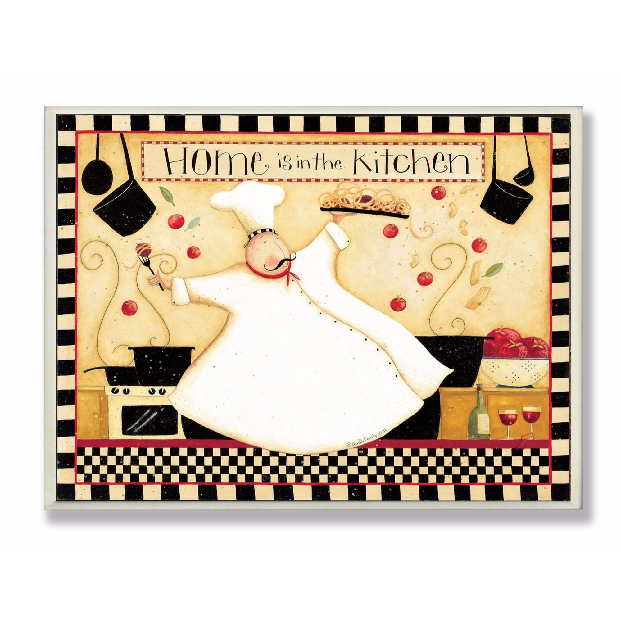 Stupell Industries Home Is In The Kitchen Wall Art - Free Shipping ...