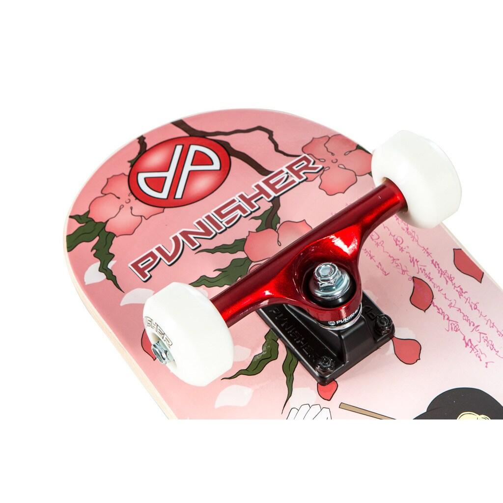 Shop Punisher Skateboards Samurai Skateboard - Free Shipping Today ...