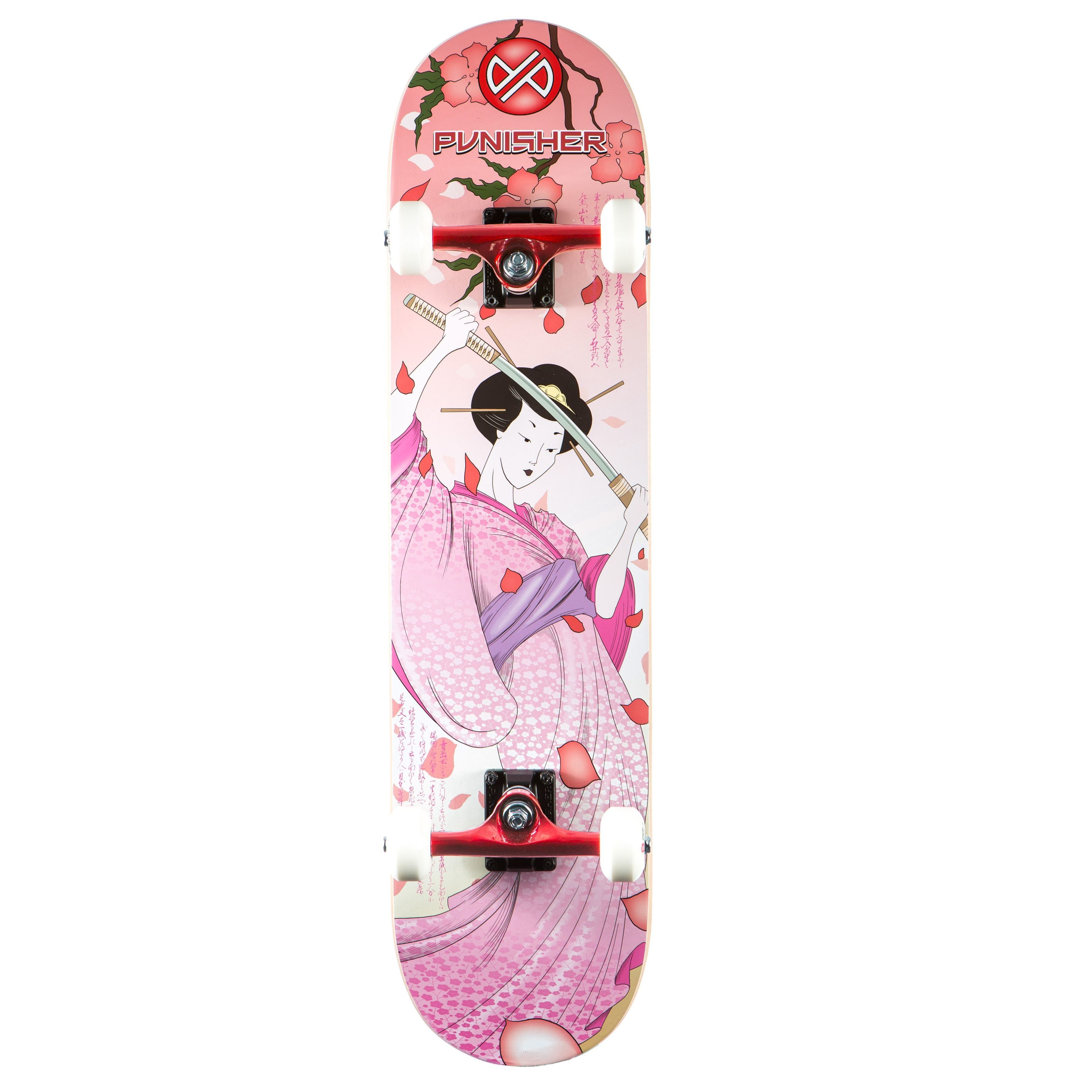 Shop Punisher Skateboards Samurai Skateboard - Free Shipping Today ...