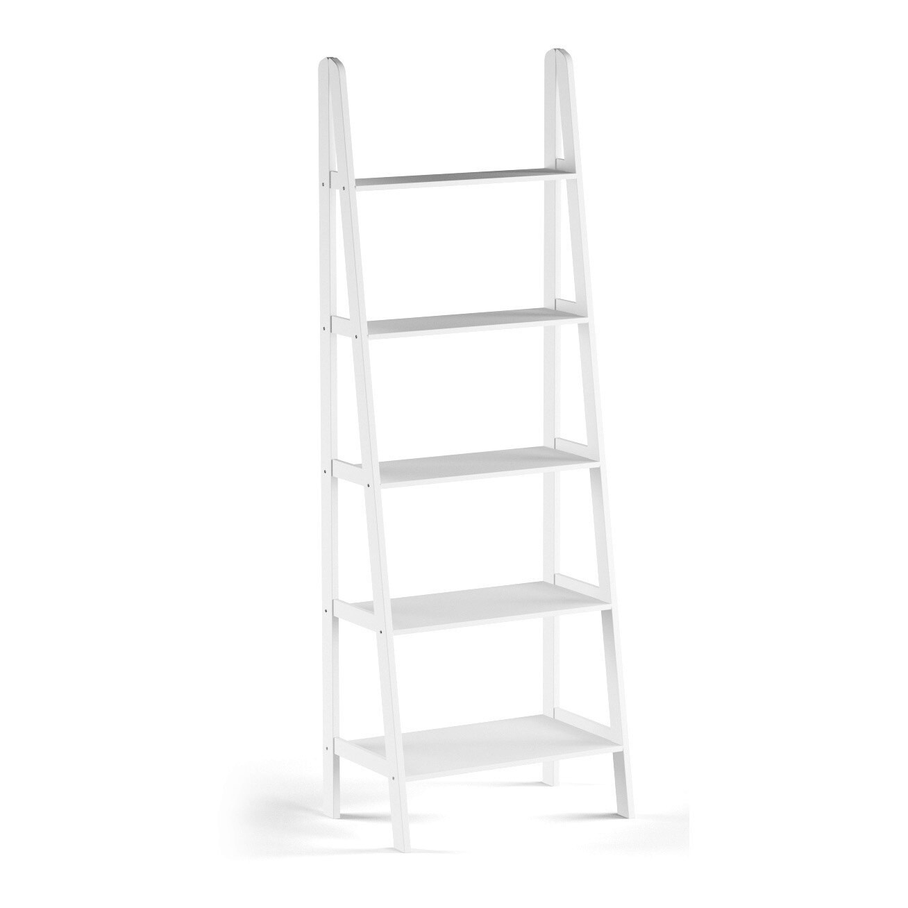 Shop Porch U0026 Den Longfellow Peterson 5 Shelf Ladder Bookcase   Free  Shipping Today   Overstock.com   19390062