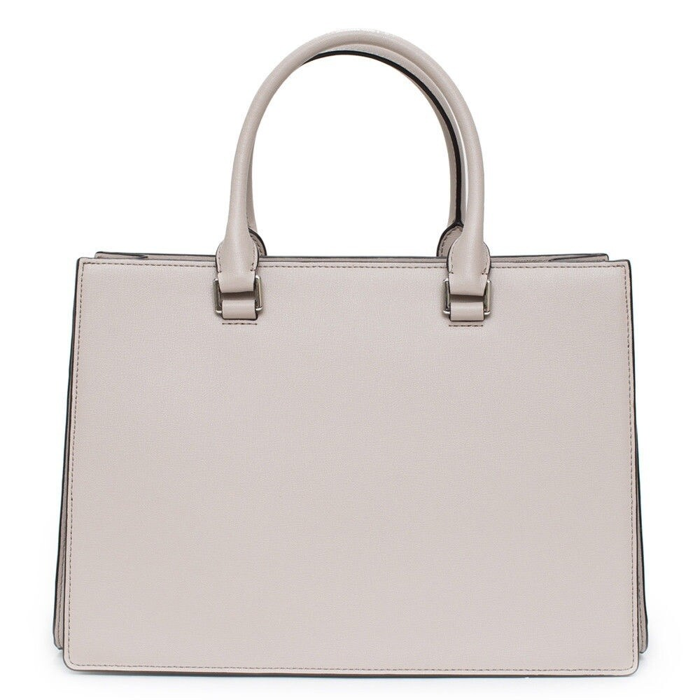 4c94db914f77 Shop Michael Kors Sutton Medium Gusset Cement Satchel Bag - Free Shipping  Today - Overstock - 19398871