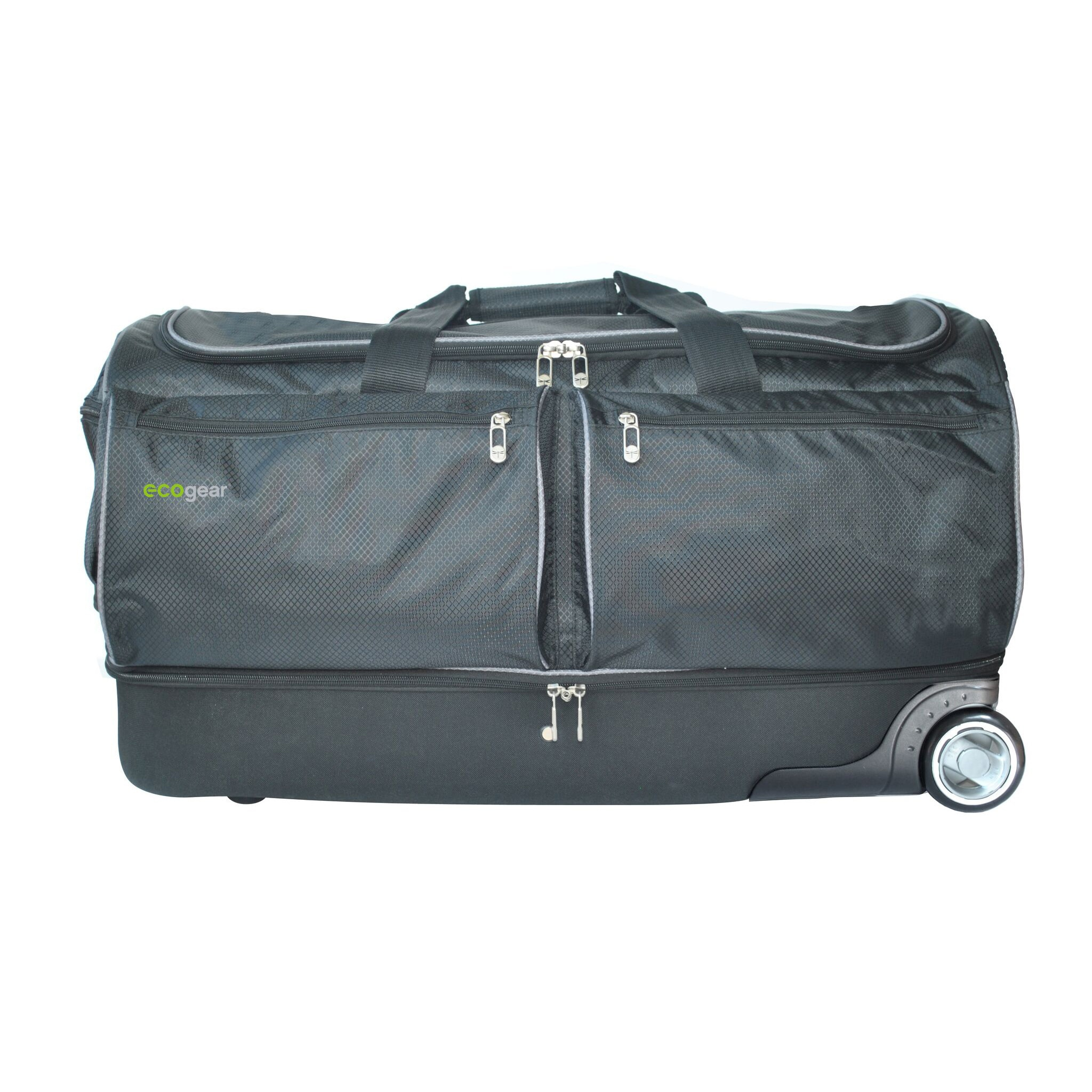 Ecogear 28 Inch Wheeled Duffel Bag With Garment Rack On Free Shipping Today 19399675