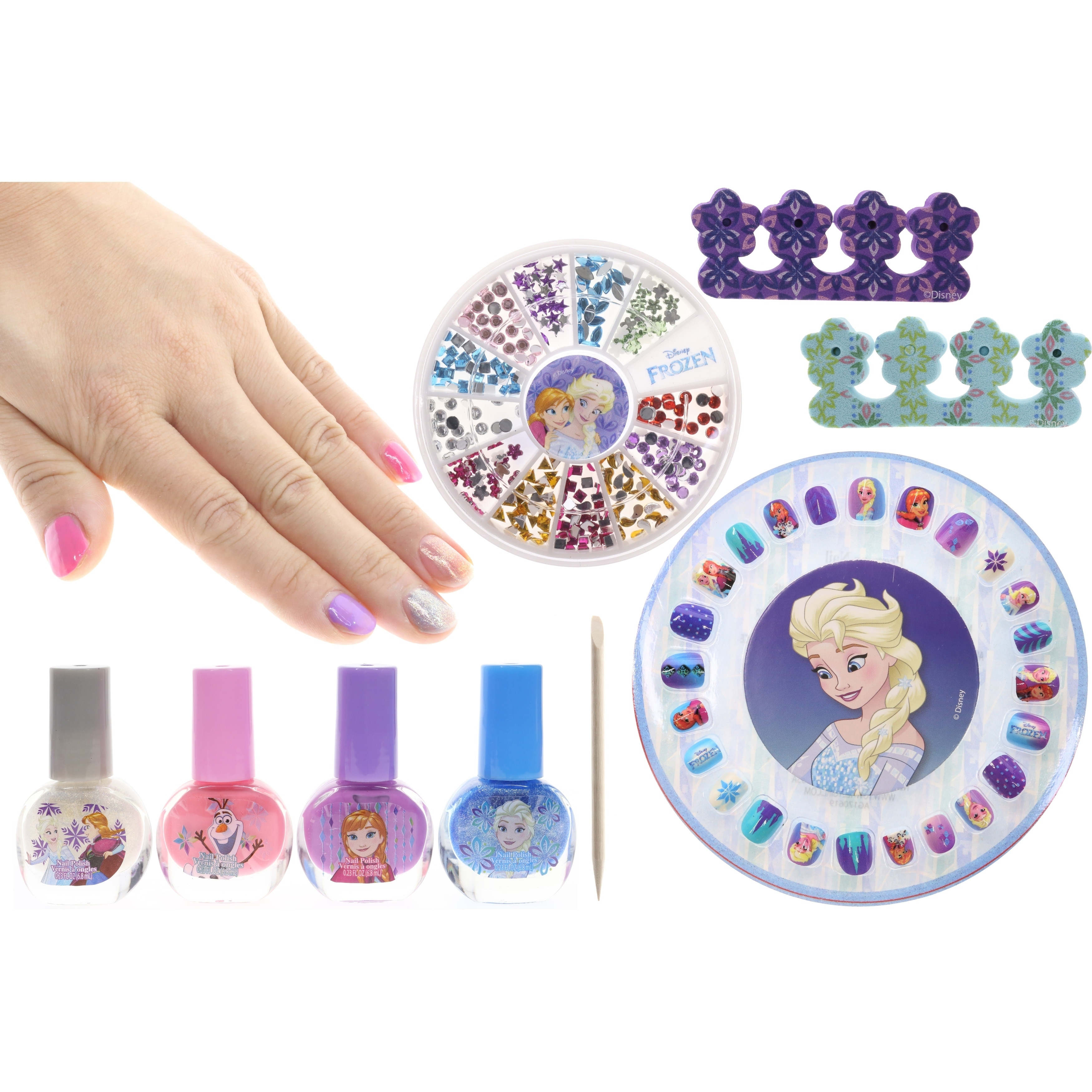 Shop Disney Frozen Mega Cosmetic Set - Free Shipping On Orders Over $45 - Overstock.