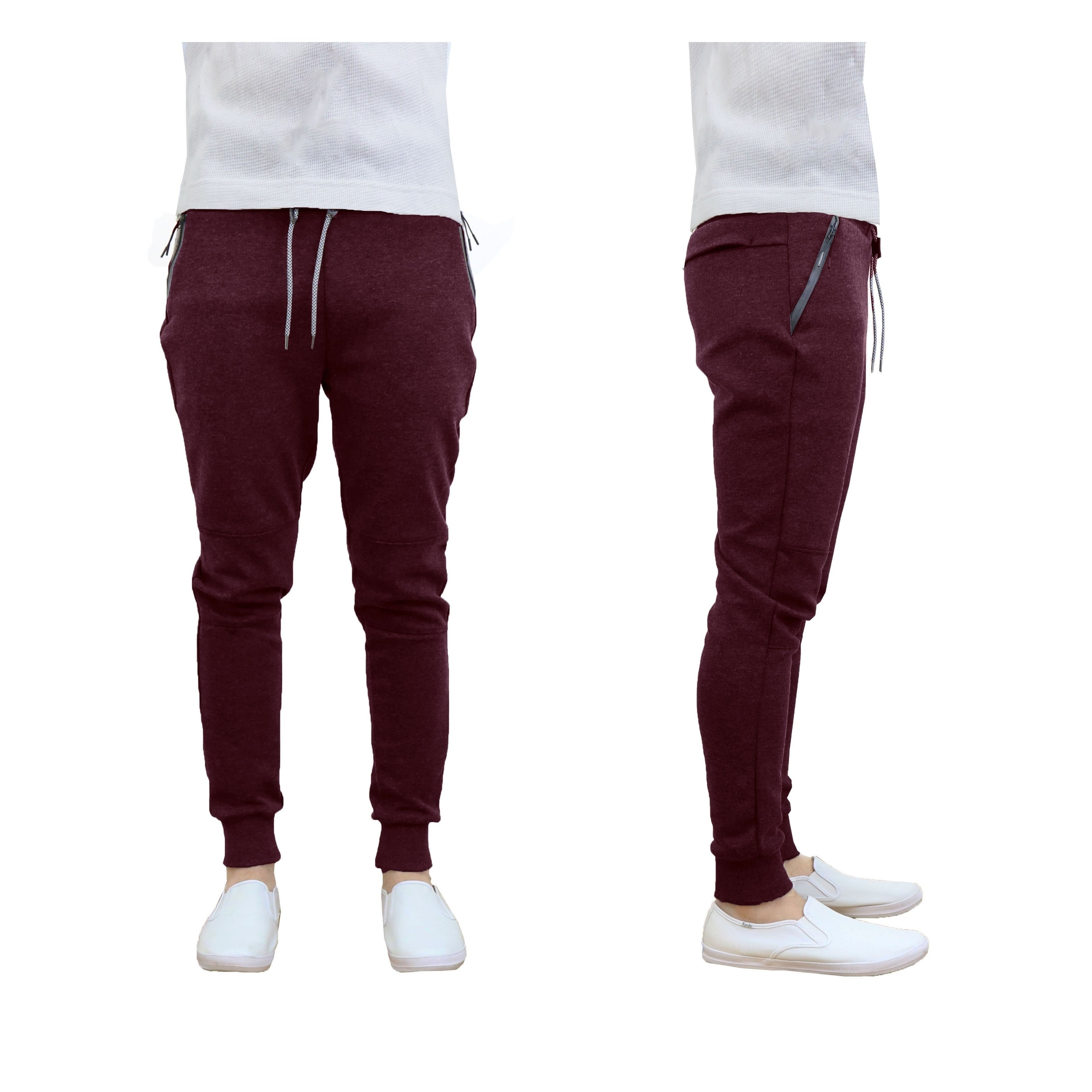 df40283d1056 Shop Galaxy By Harvic Men s Tech Fleece Jogger Sweatpants Lounge Active  Slim Fit - On Sale - Free Shipping On Orders Over  45 - Overstock - 19420045