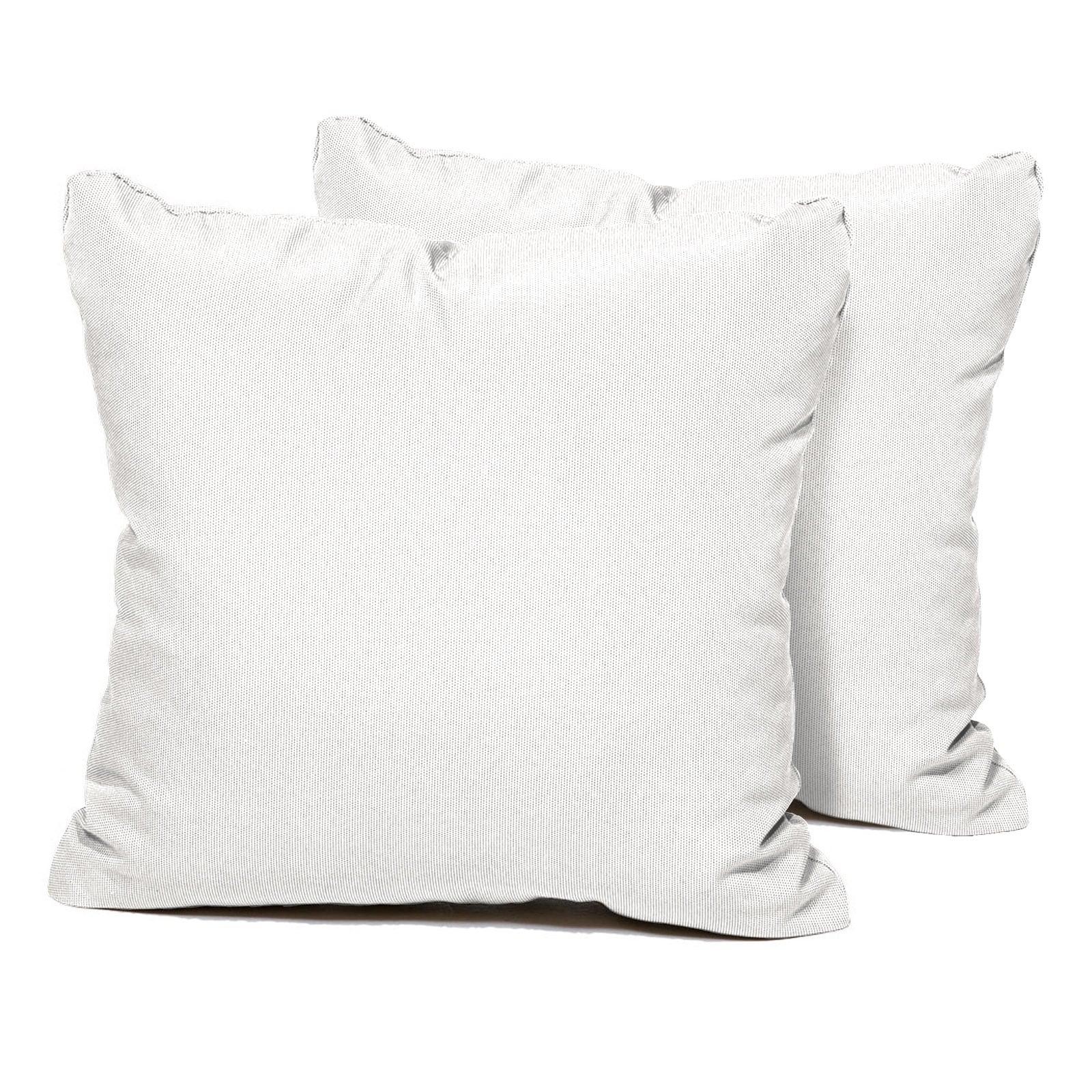 Shop Sail White Outdoor Throw Pillows Square Set Of 2 Free