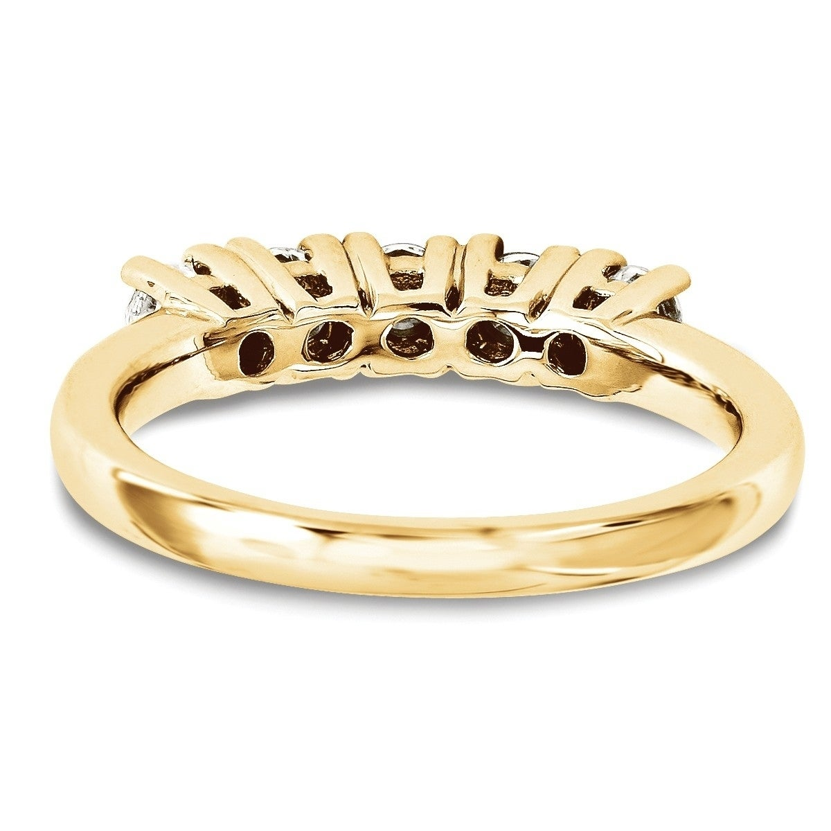 buy titan finger tanishq bands id women karat gold for yellow ring band studded diamond product kt