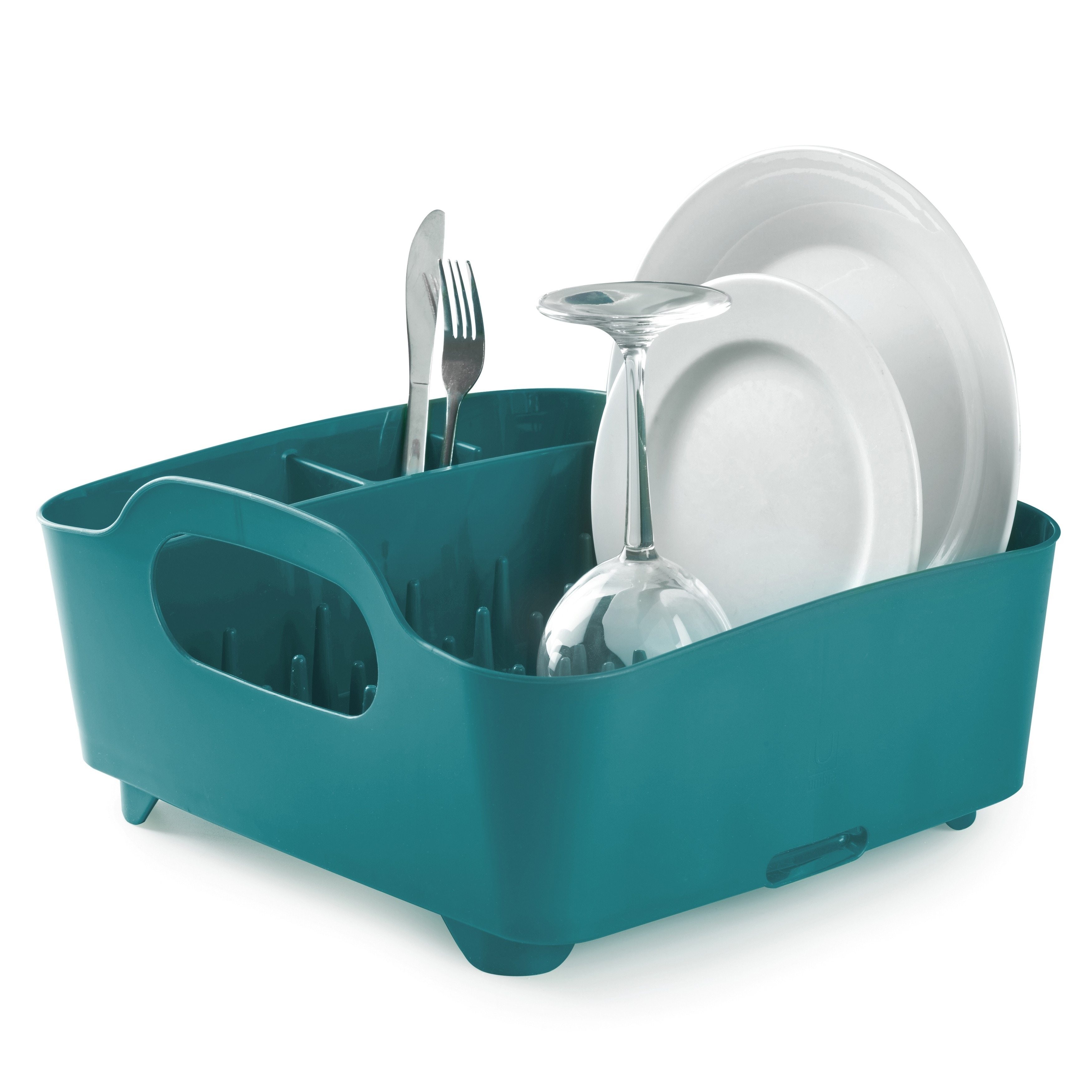 Umbra Tub All in e Self Draining Dish Drying Rack Free Shipping