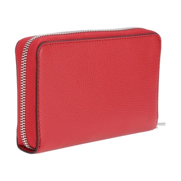 f48806110ffda9 Shop MICHAEL Michael Kors Mercer Large Flat Multi Function Phone Case  Bright Red/Silver Hardware - Free Shipping Today - Overstock - 19435461