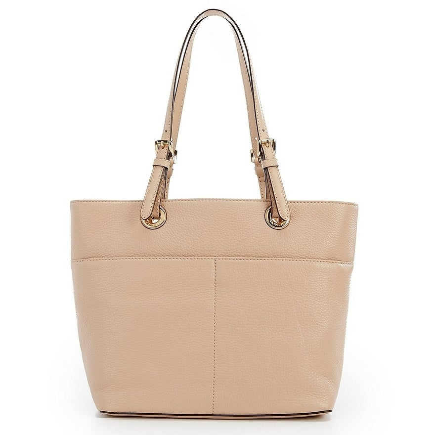 32ac6a03c754ef Shop MICHAEL Michael Kors Bedford Pocket Tote Oyster - Free Shipping Today  - Overstock - 19436372