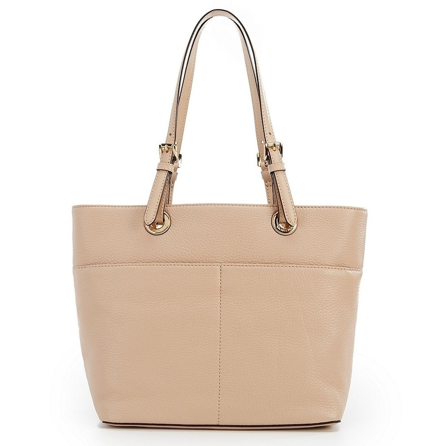 5a8b81d64e Shop MICHAEL Michael Kors Bedford Pocket Tote Oyster - Free Shipping Today  - Overstock - 19436372