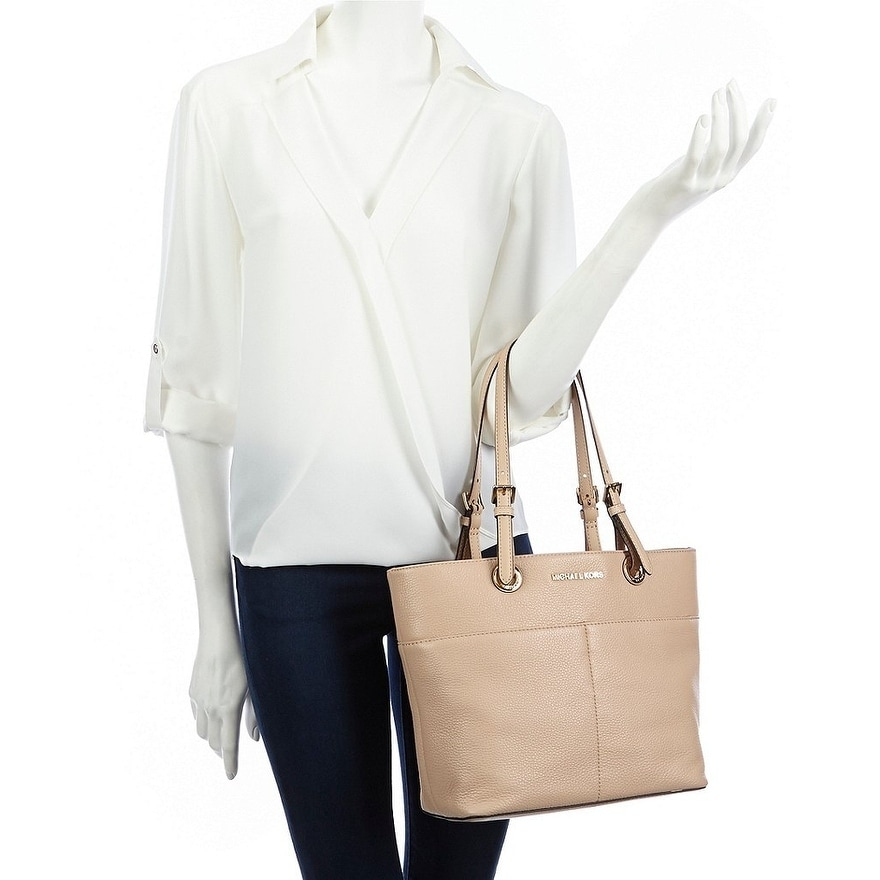 35c0fd22aa6c ... norway shop michael michael kors bedford pocket tote oyster free  shipping today overstock 19436372 d8144 22b58