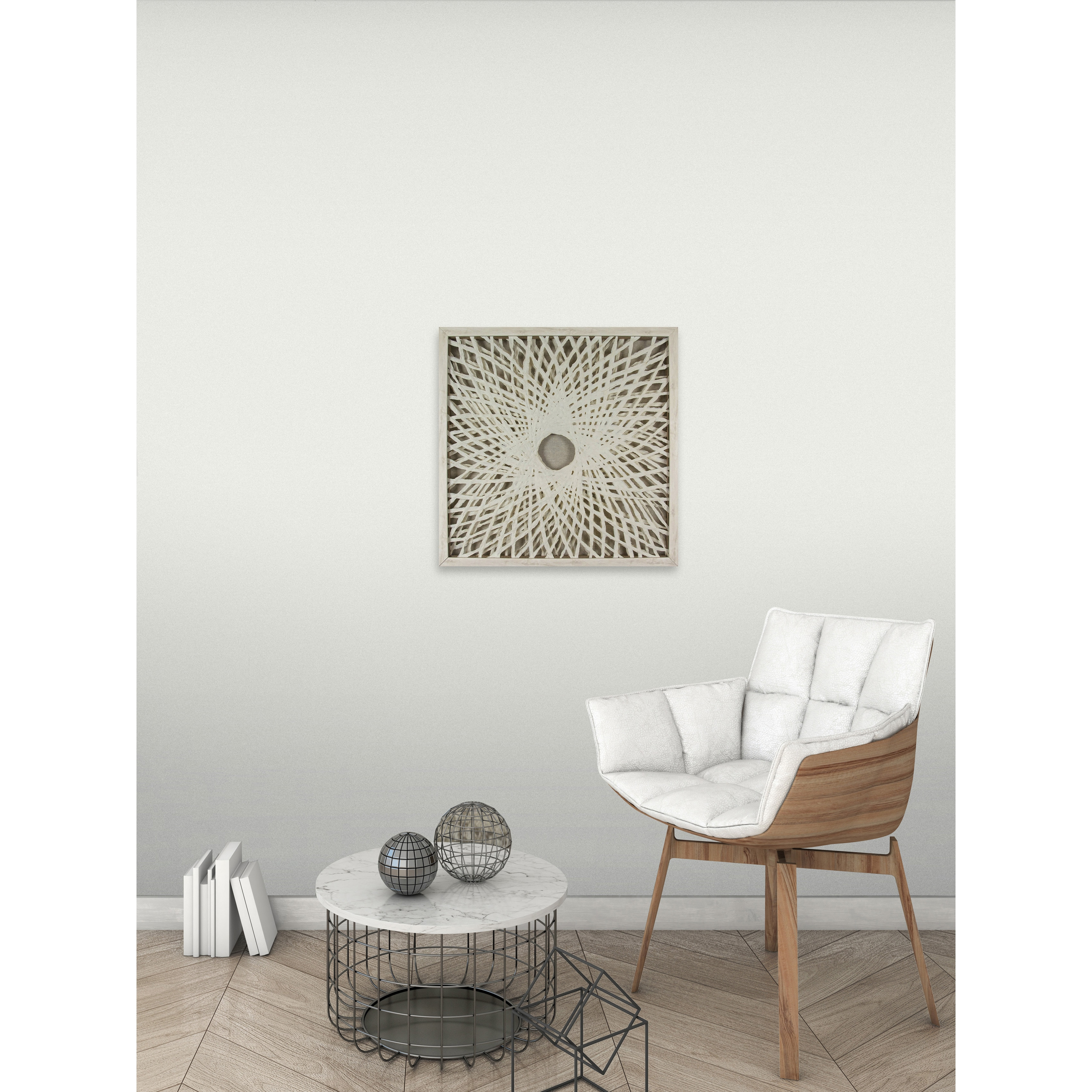 White Illusion Paper Art - Free Shipping Today - Overstock.com - 25448590