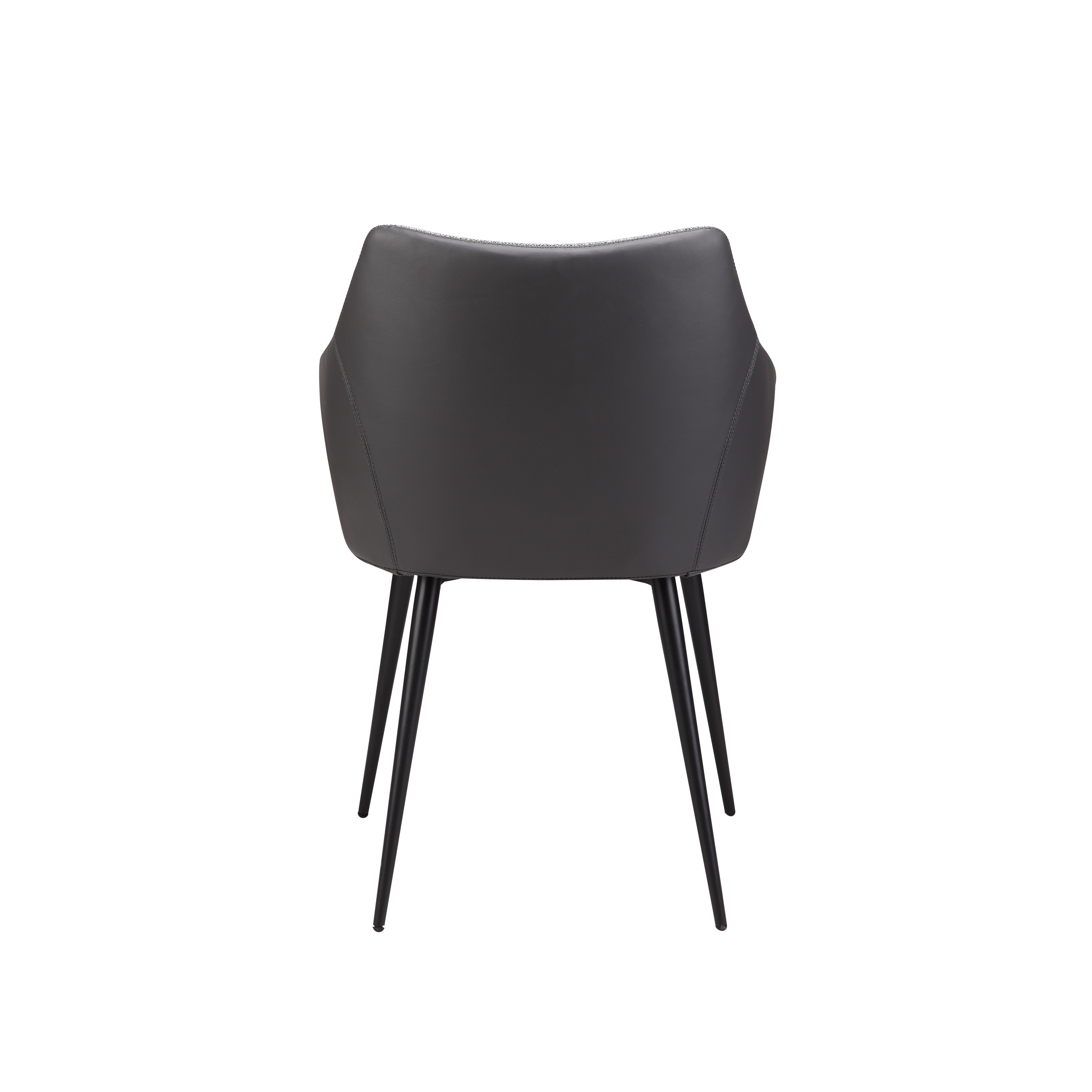 Aurelle Home Beckett Grey Upholstered Dining Chair   Free Shipping Today    Overstock.com   25448837