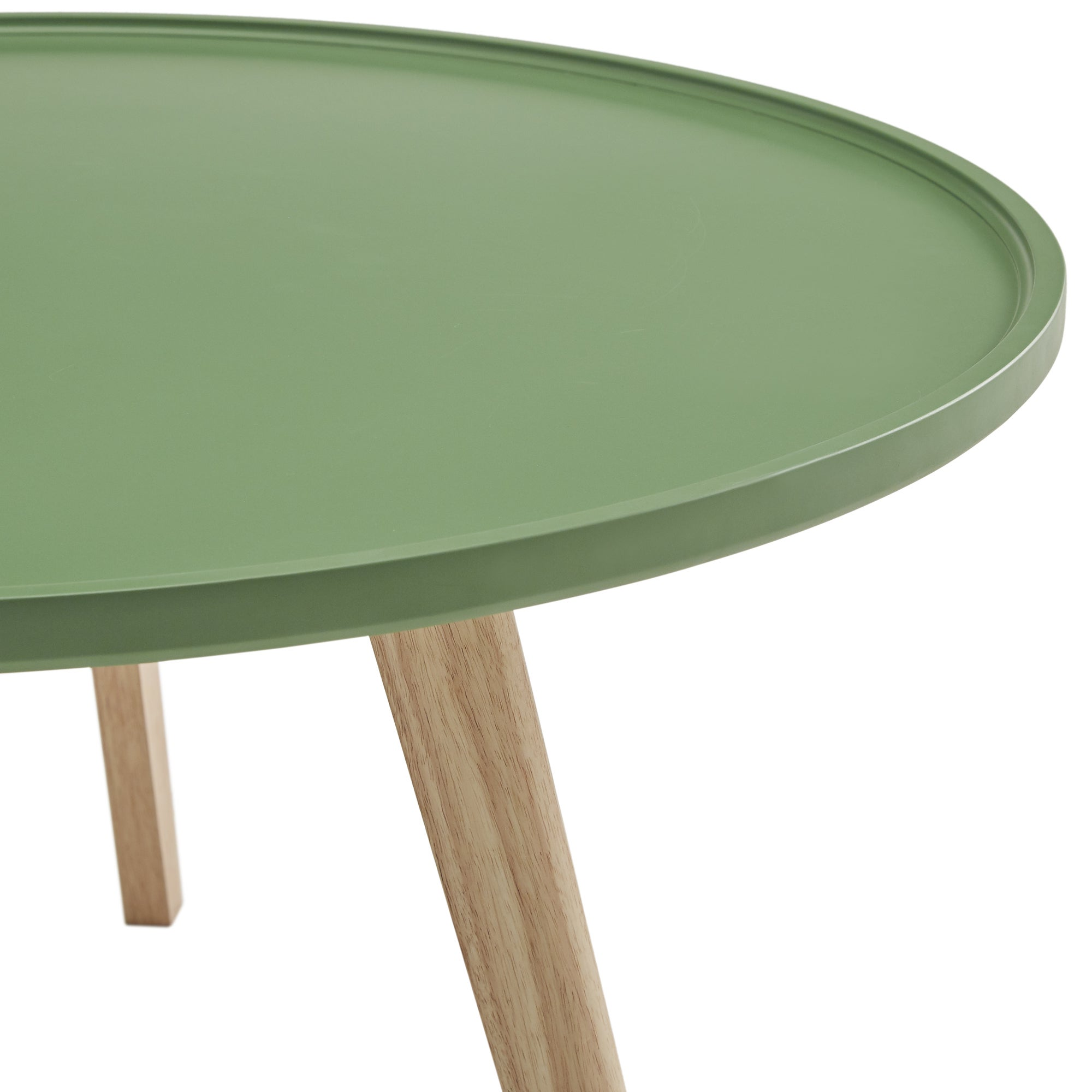 Hayden Mid Century Round Coffee Table By Inspire Q Modern Free Shipping Today 19457142