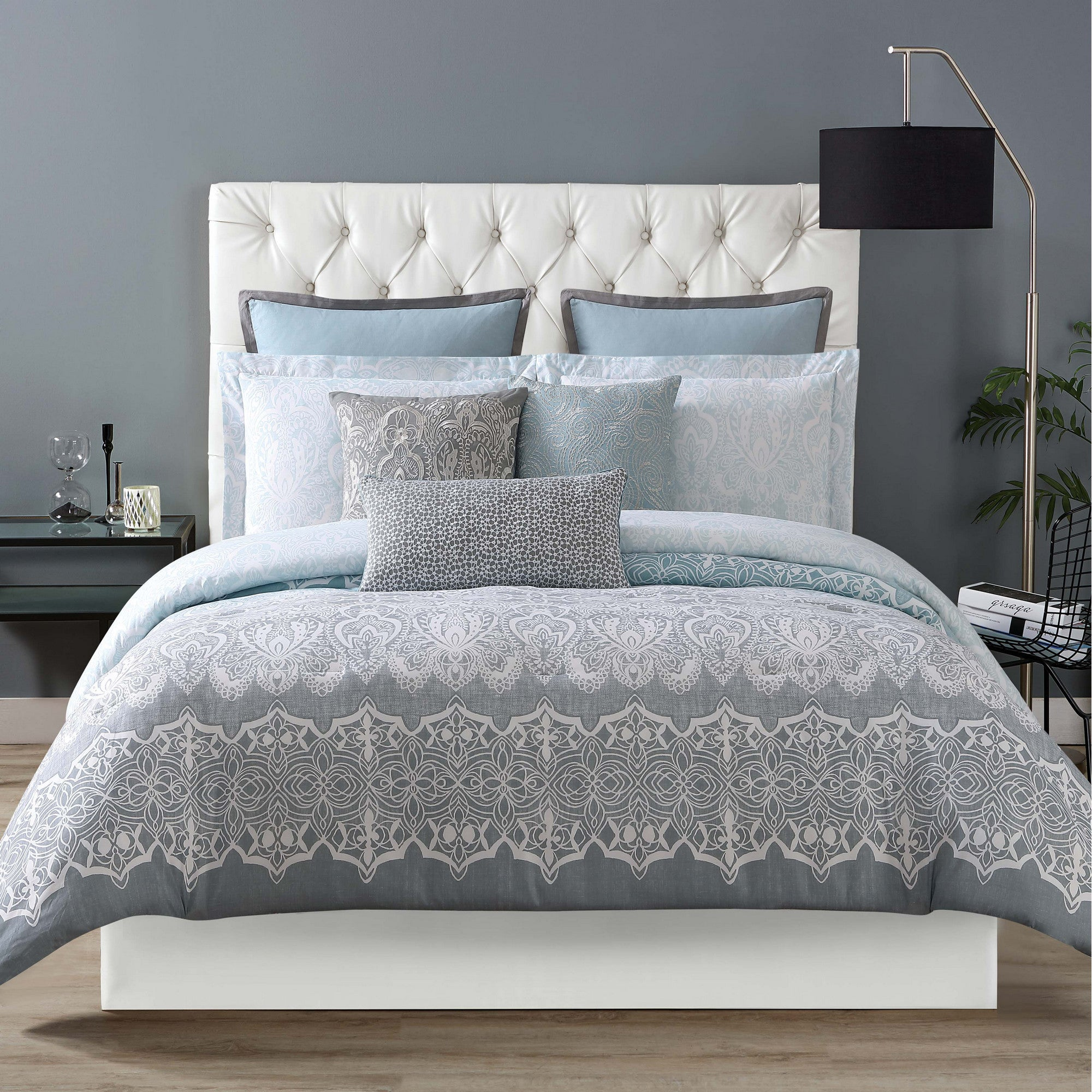 Siriano Ombre Lace Printed 3 Piece Duvet Set Free Shipping Today 25459741