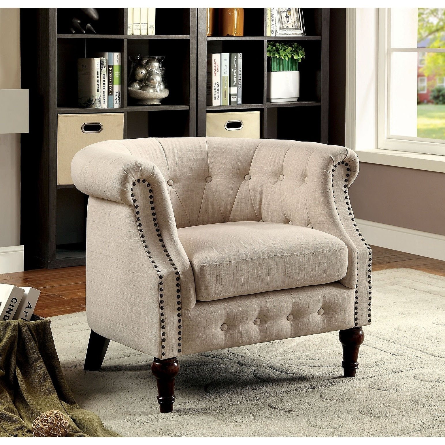 Shop Jason Accent Chair Free Shipping Today Overstock 19459713