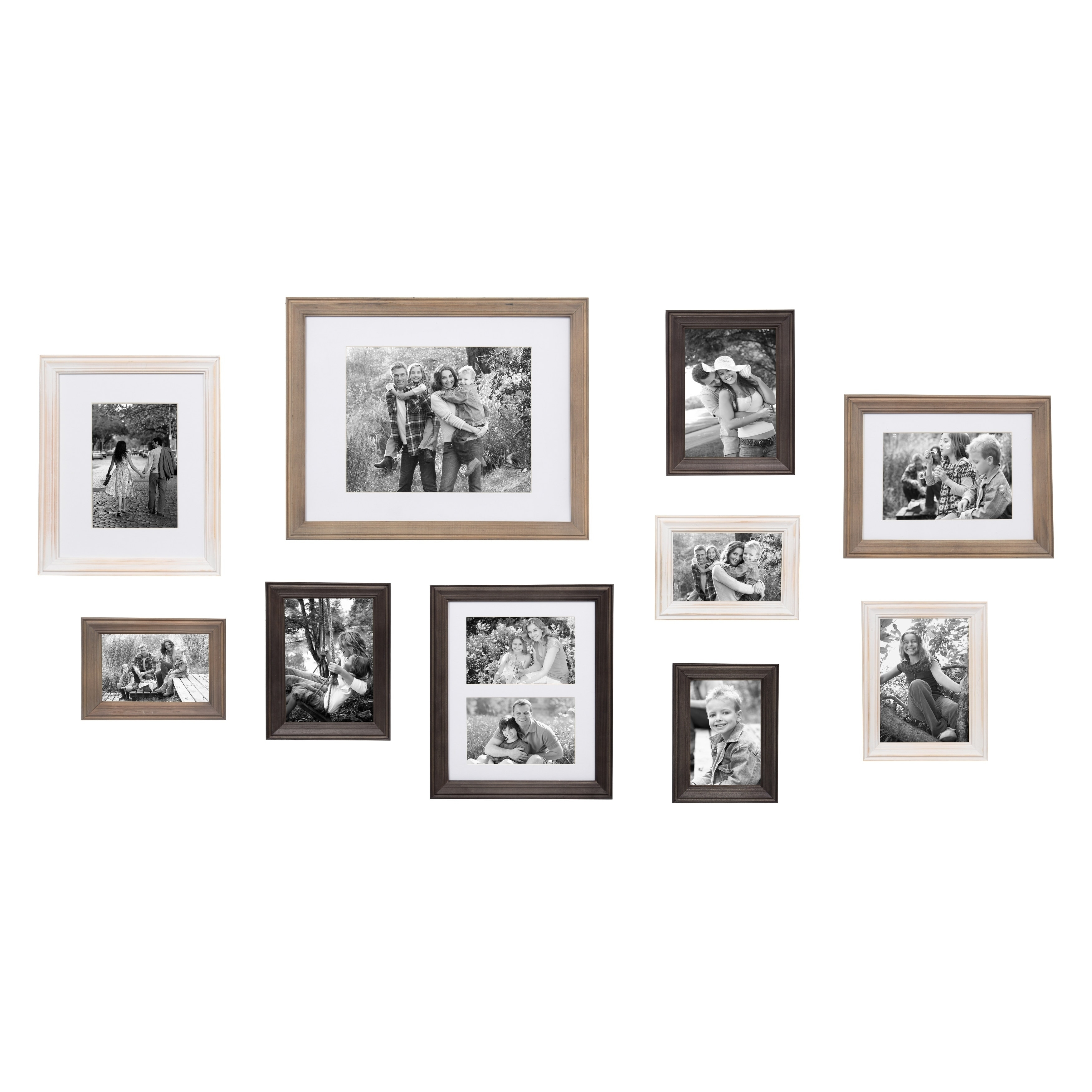 Shop Bordeaux Gallery Wall Kit, Set of 10 Assorted Sizes - On Sale ...