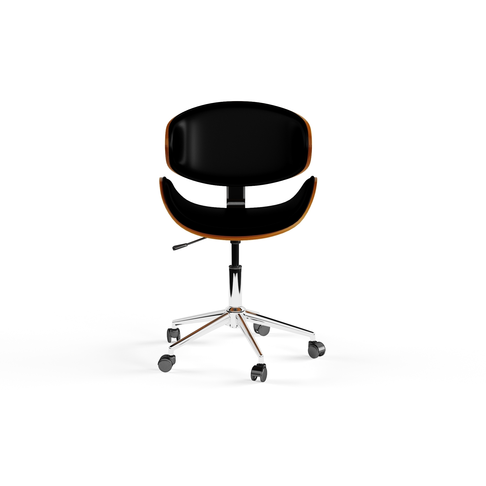 Shop Carson Carrington Malmo Black Wood Office Chair On Sale Chic Original Hovering Free Shipping Today 19473327