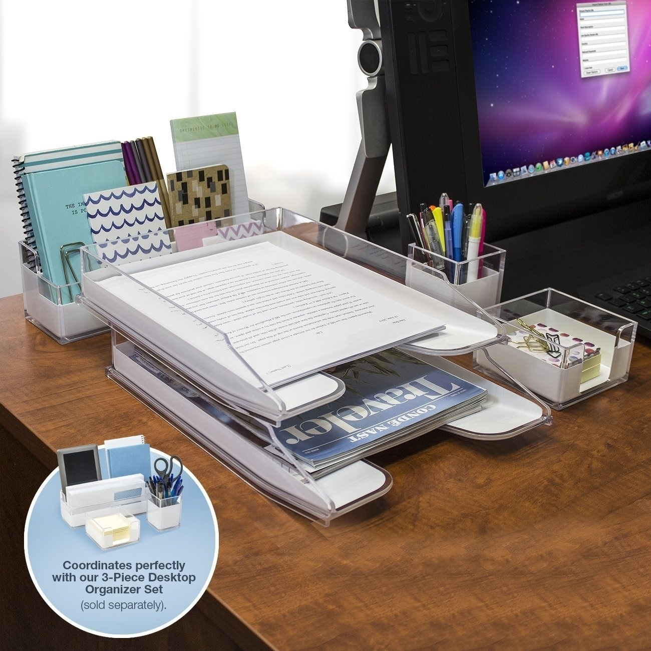 sets officeworks organiser com organizer onsingularity desk set