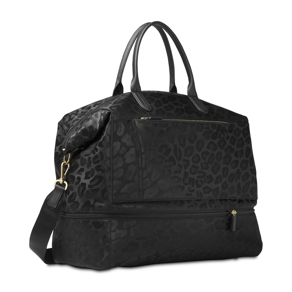 3d22b5c95fbac0 Shop Michael Kors Kelsey Black Nylon Expandable Extra-large Travel ...