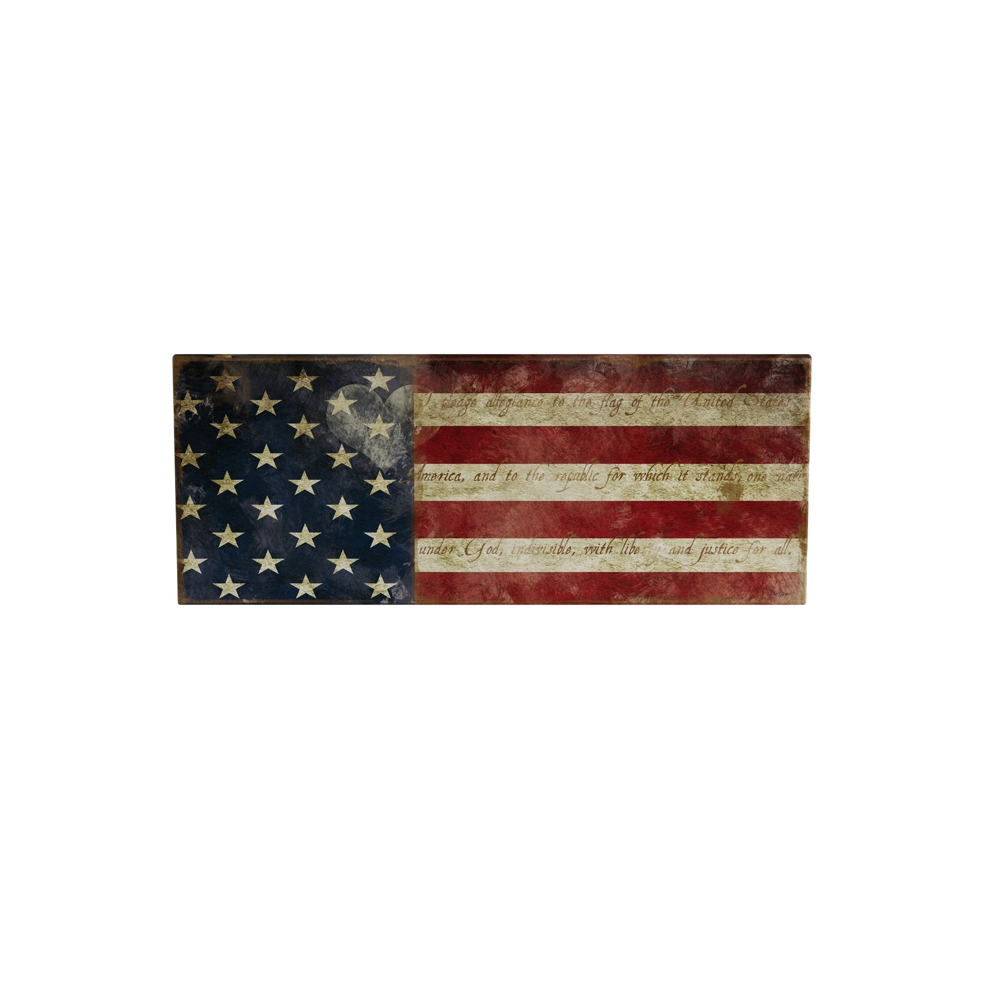 Shop Porch & Den Carol Robinson I Pledge Allegiance Premium