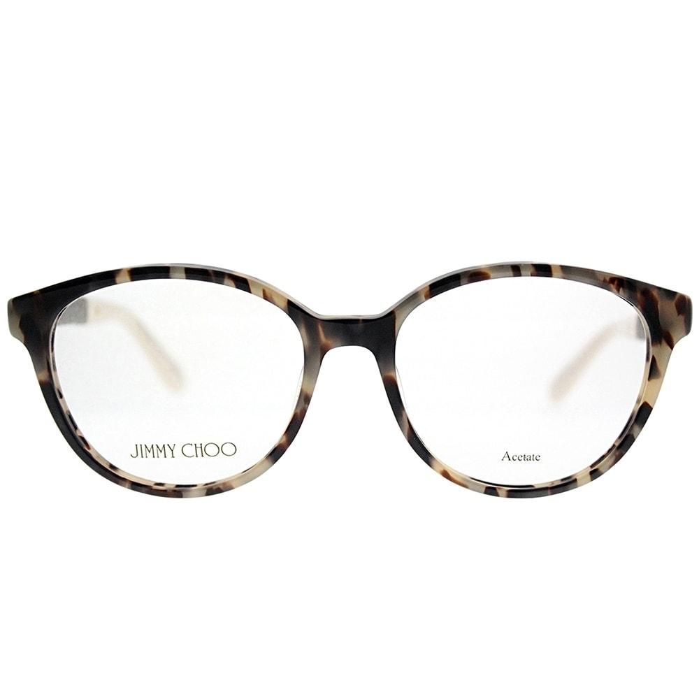 7f2293beede Shop Jimmy Choo Round JC 118 VUV Women Light Tortoise Frame Eyeglasses -  Free Shipping Today - Overstock - 19483863