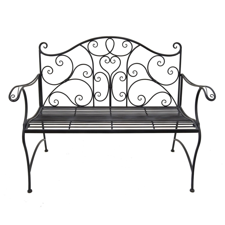 Groovy Three Hands Metal Garden Bench Theyellowbook Wood Chair Design Ideas Theyellowbookinfo