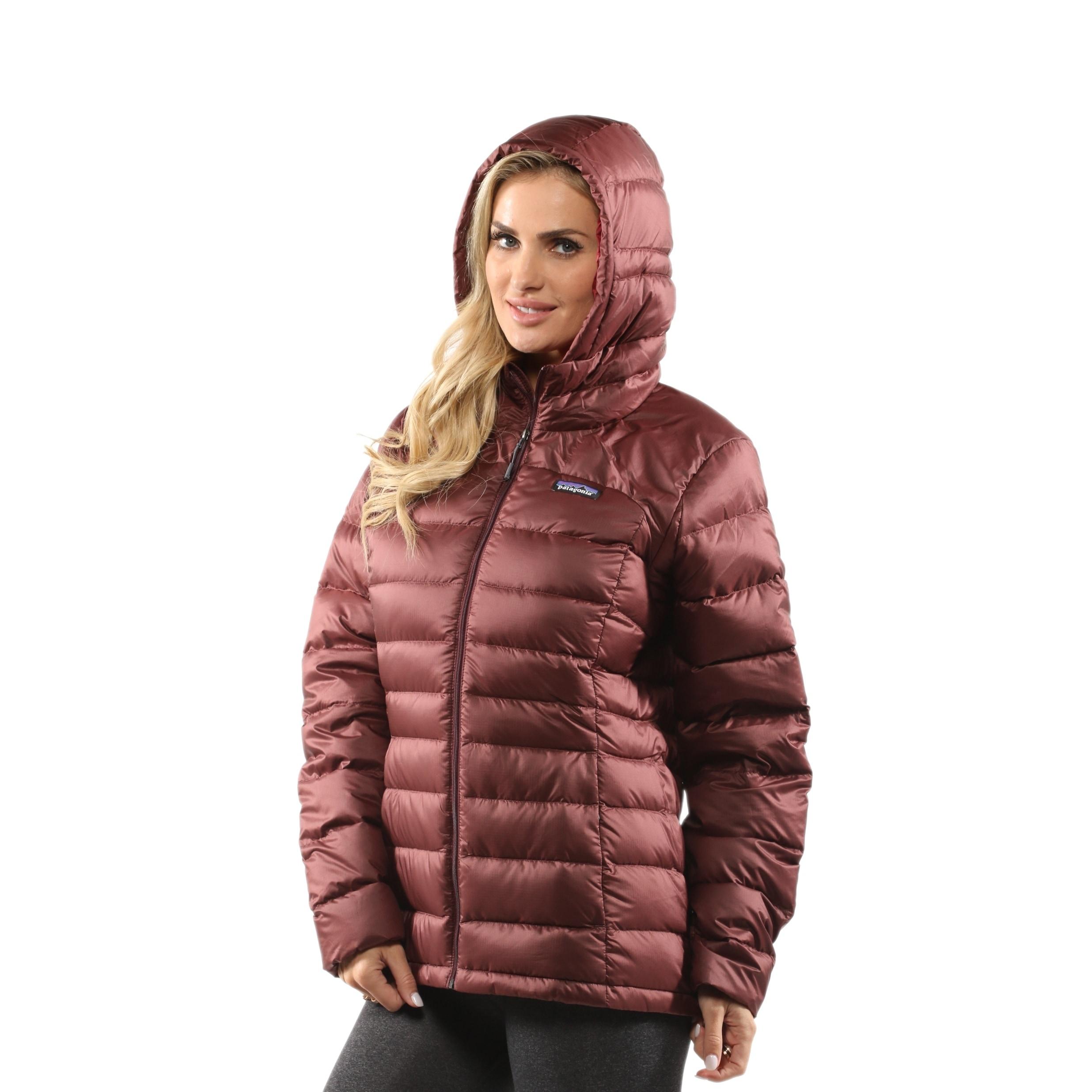Shop Patagonia Womens Hi Loft Down Sweater Hoody Free Shipping