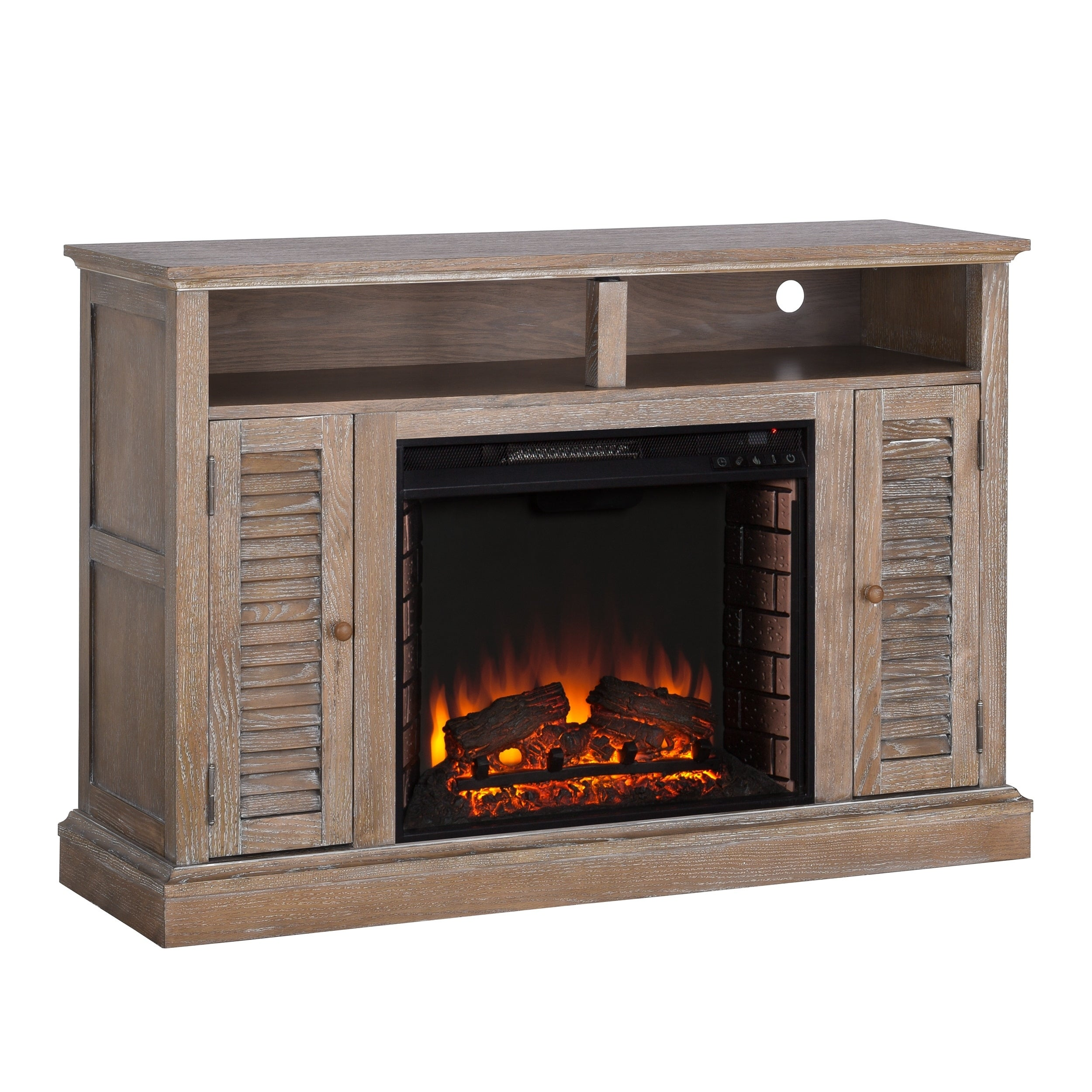 electric oak stand tv new fireplace creative ideas