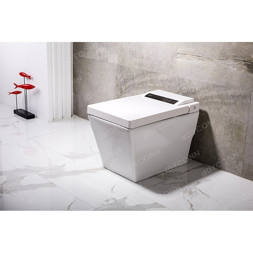 Shop Dyconn Faucet Aqua Tankless All In One Combo Bidet & Smart ...