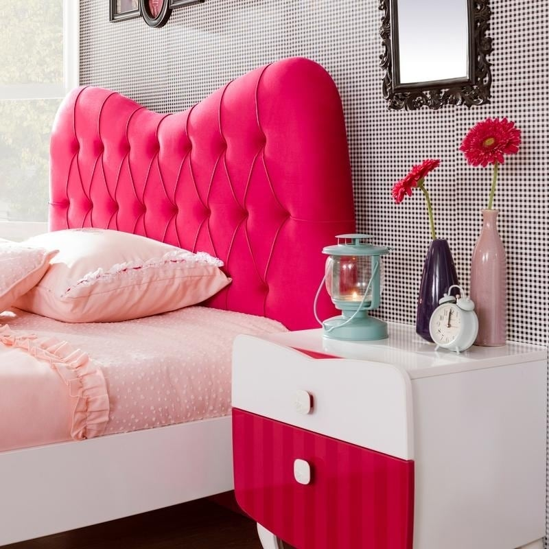 Cilek Rosa White Laminate Twin XL Bed - Free Shipping Today ...