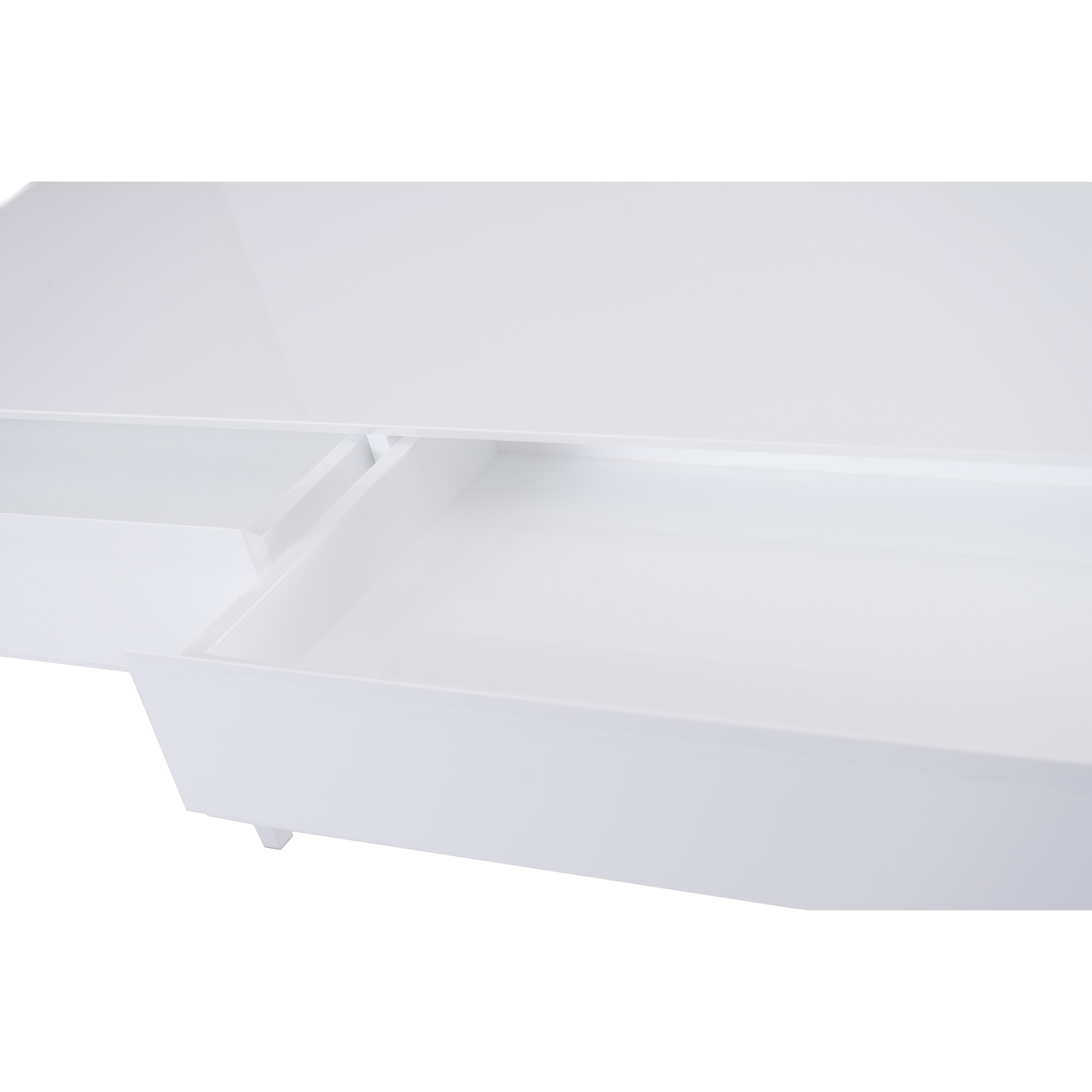 Shop Club White Glossy Console Table   On Sale   Free Shipping Today    Overstock.com   19503140