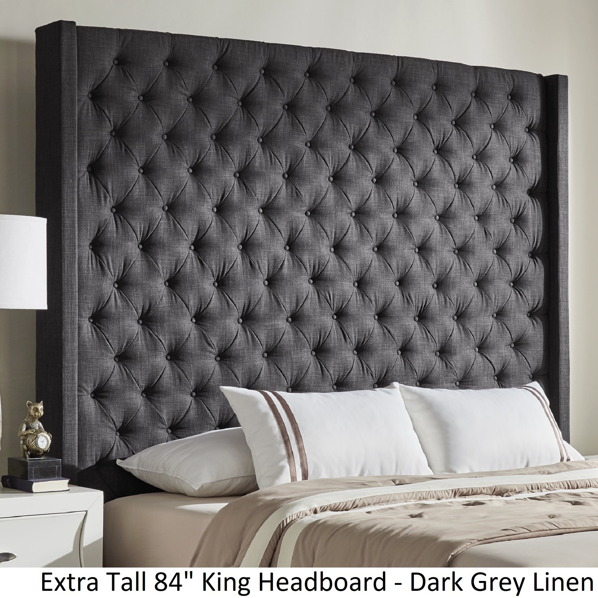 go pin pieces style that dark tufted of grey never furniture out headboard