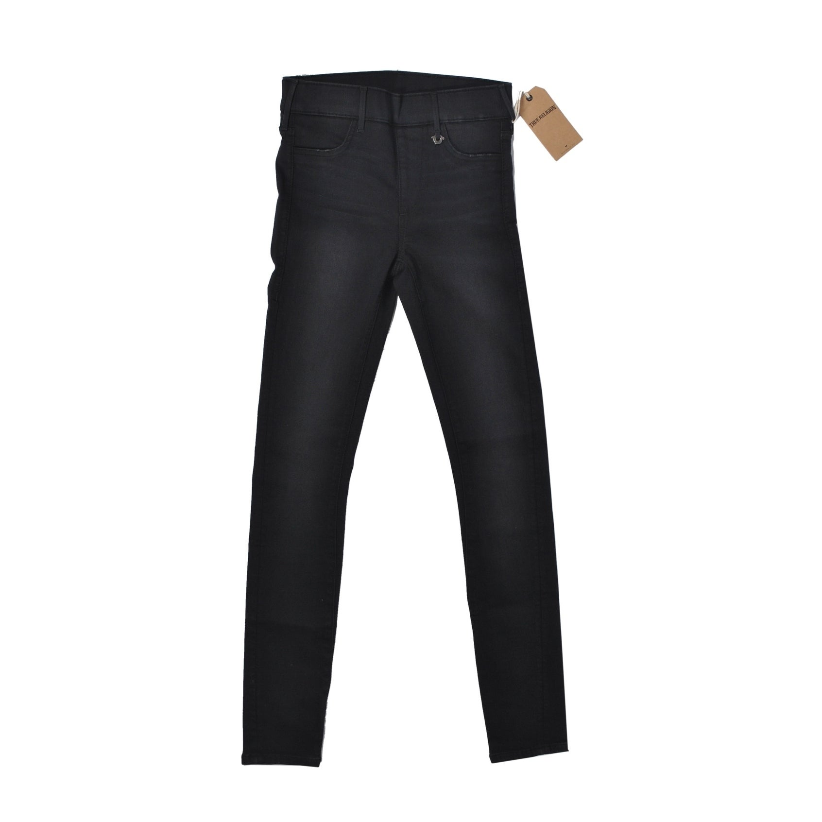 888792c3a Shop True Religion Black Stretch Denim - On Sale - Free Shipping On Orders  Over  45 - Overstock.com - 19511990