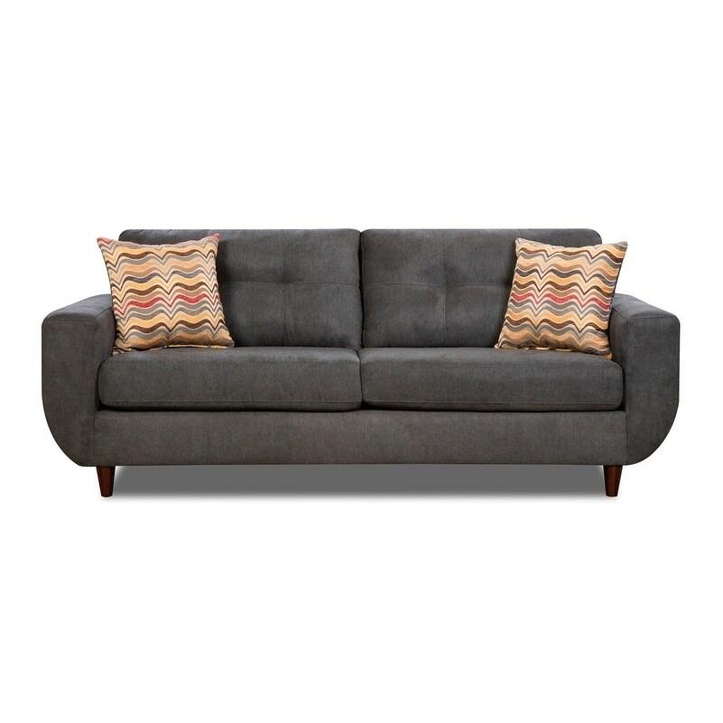 Nice Graphite Sofa #19 - Simmons Upholstery Killington Graphite Sofa - Free Shipping Today -  Overstock - 25505960