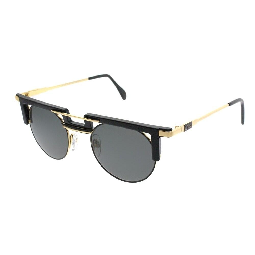 6e59b778958b Shop Cazal Round Cazal 745 Legends 001SG Unisex Black Frame Grey Gradient  Lens Sunglasses - Ships To Canada - Overstock - 19518751