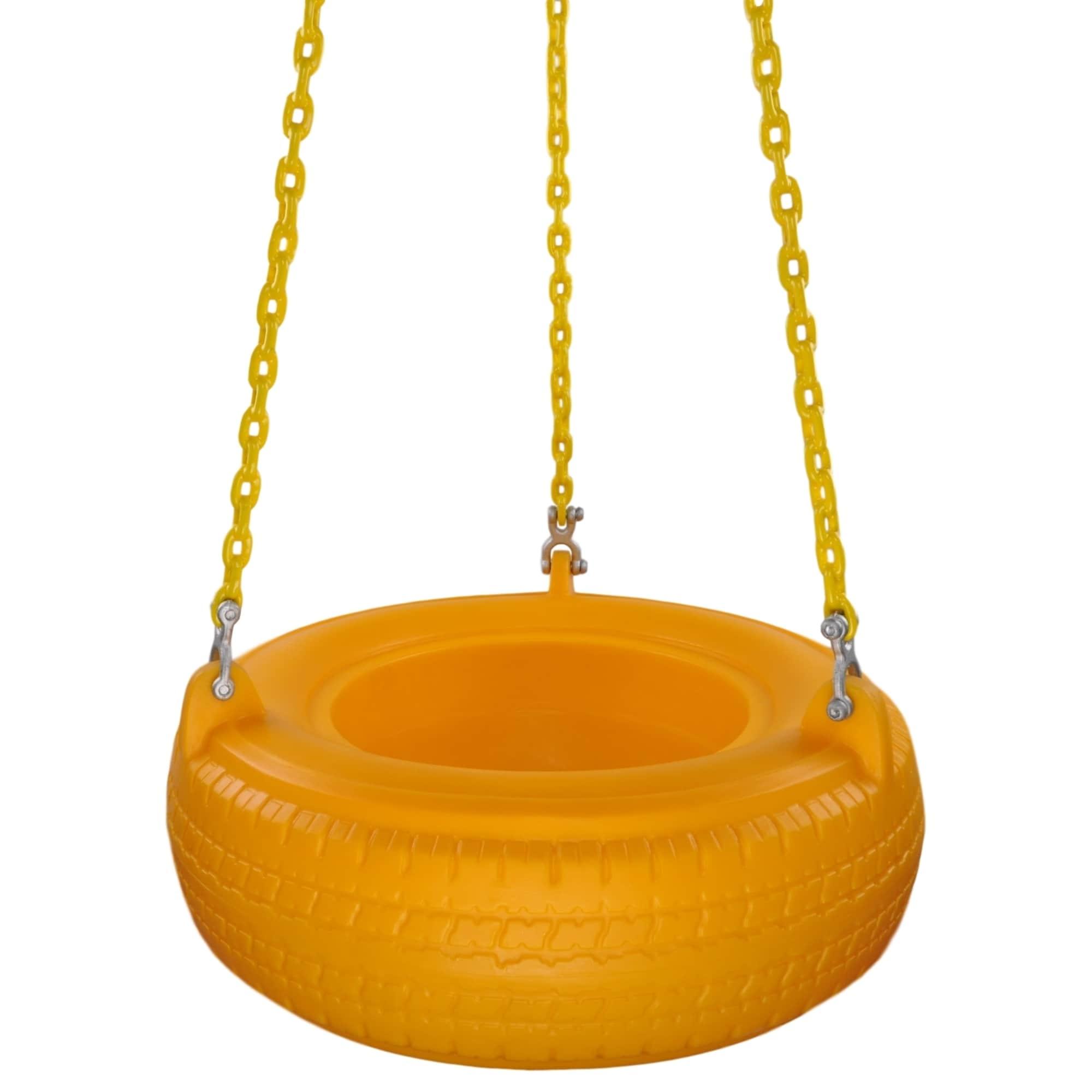 Shop Swing Set Stuff Inc Plastic Tire With Coated Chain Free