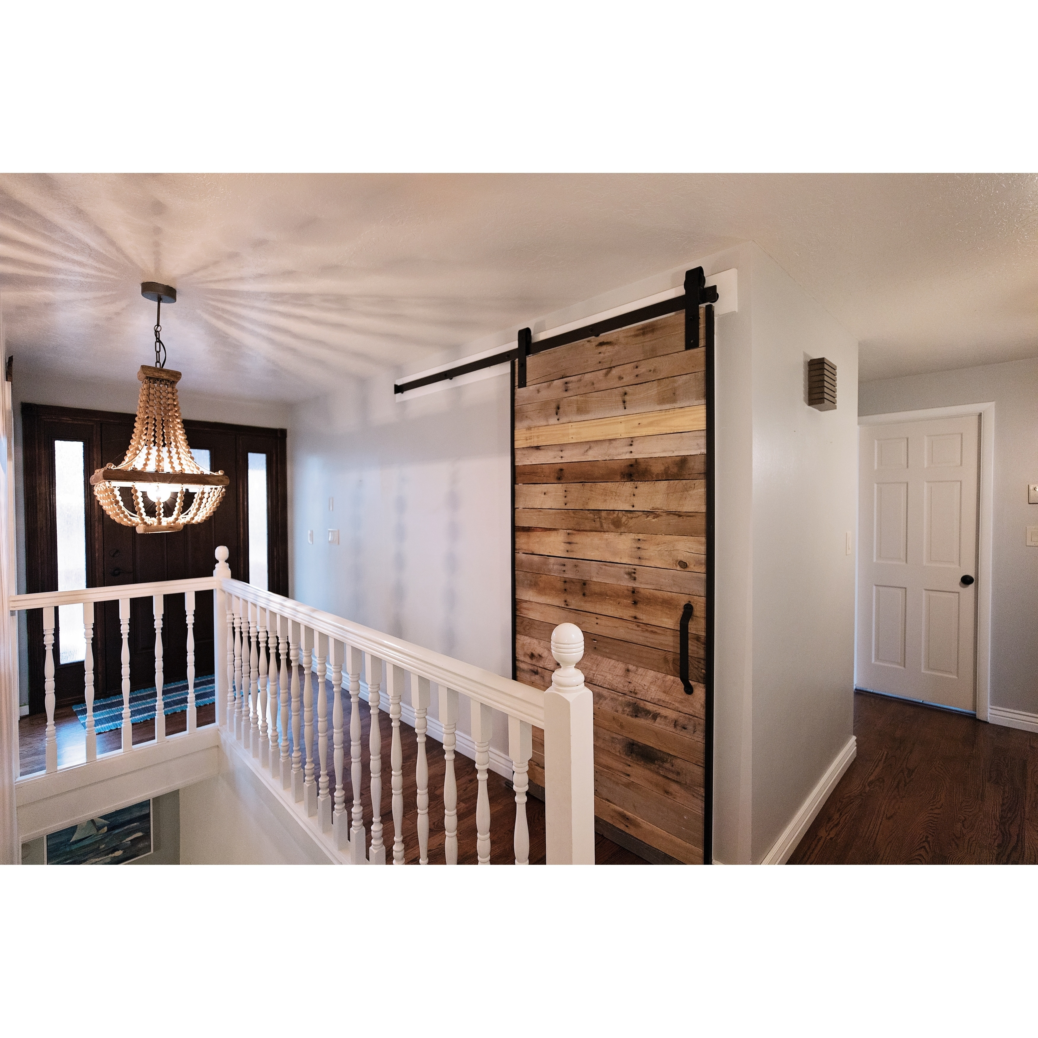 Diy Barn Door Frame And Hardware Kit Free Shipping Today