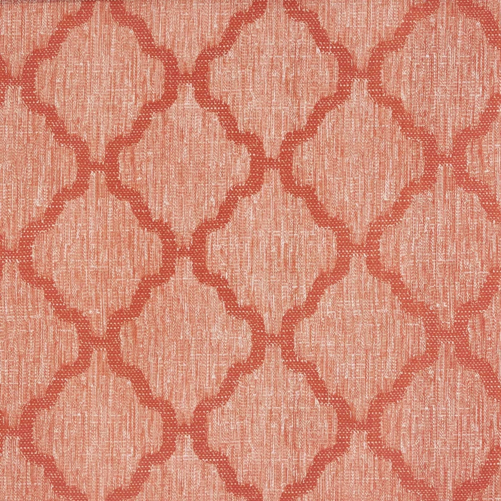 Shop Trellis Pattern Window Valance Orange