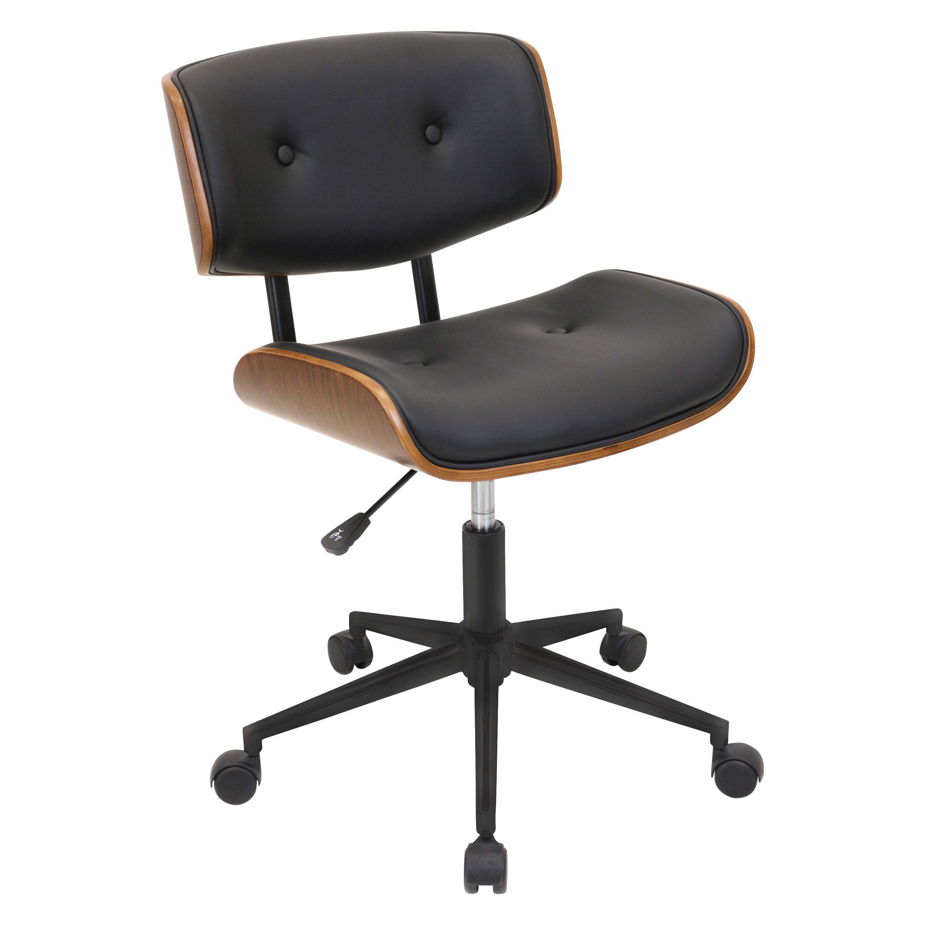 simple office chair. Shop Carson Carrington Leksand Simple Mid-century Modern Office Chair - Free Shipping Today Overstock.com 19529717 T