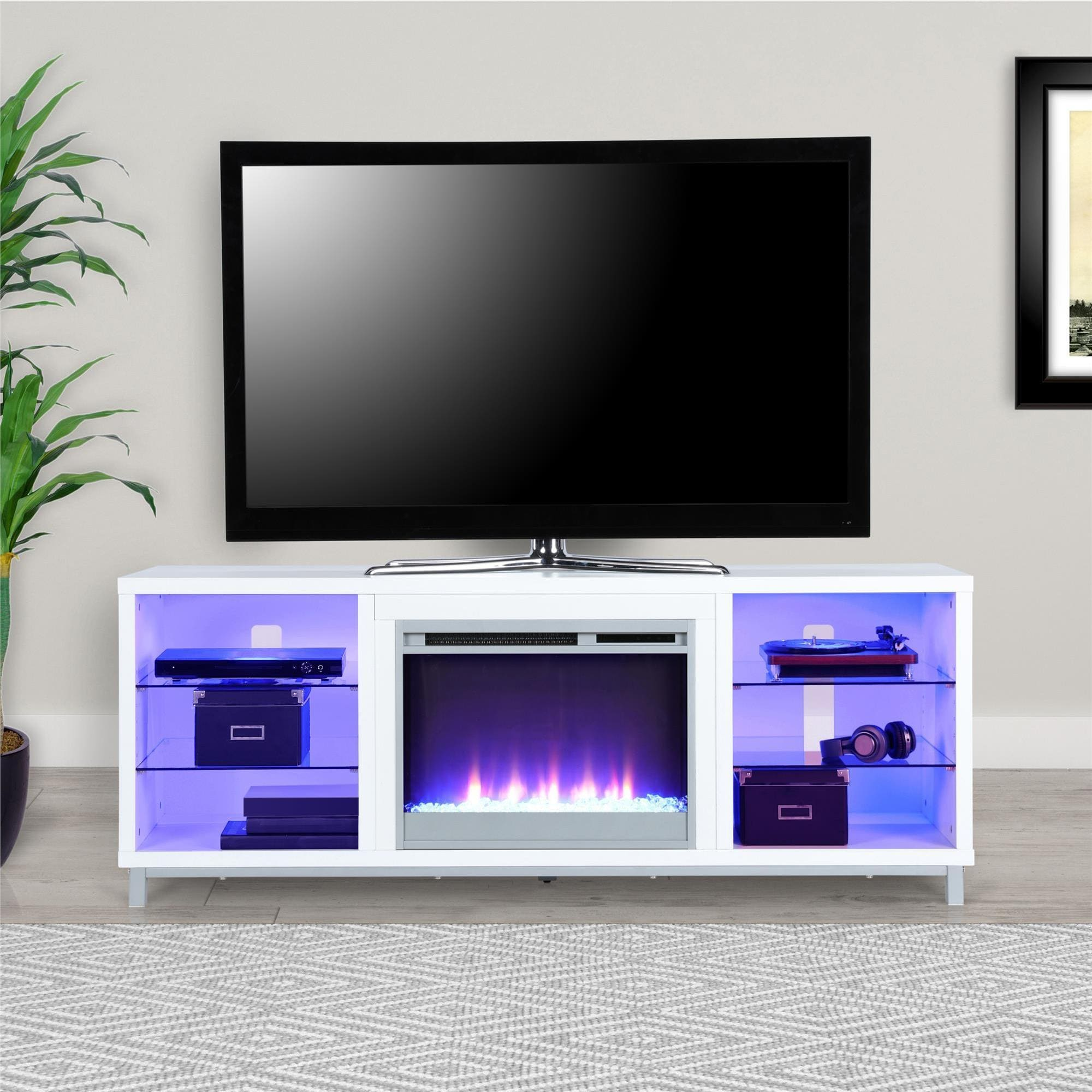 Shop Avenue Greene Westwood Fireplace Tv Stand For Tvs Up To 70