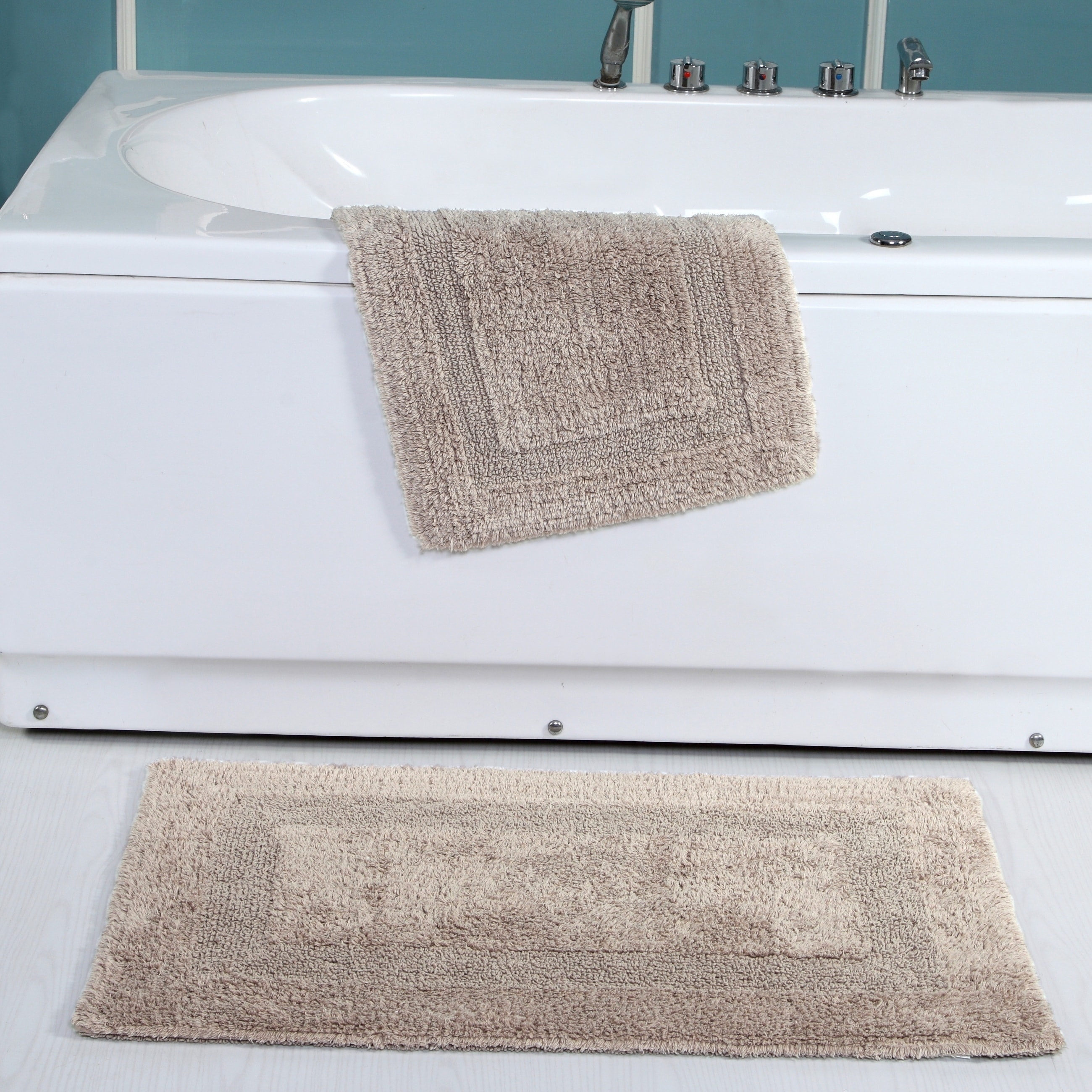 2 Piece Reversible Bath Rugs Free Shipping On Orders Over 45 25522621