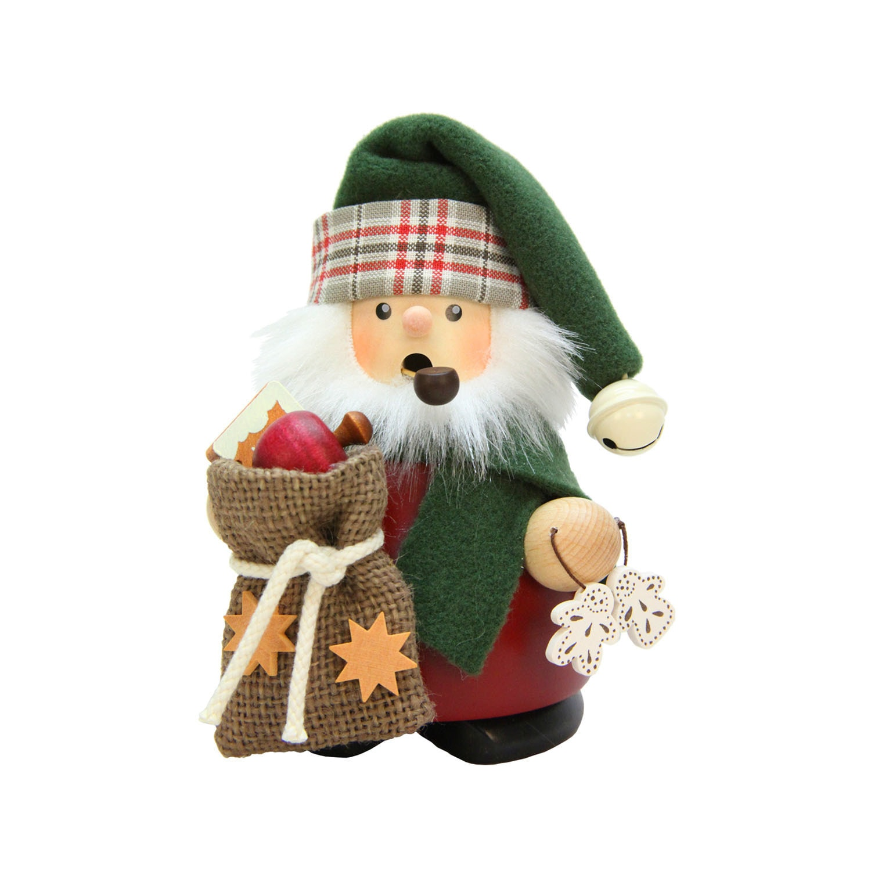 Shop Christian Ulbricht Holiday Christmas Decor Santa With Sack ...