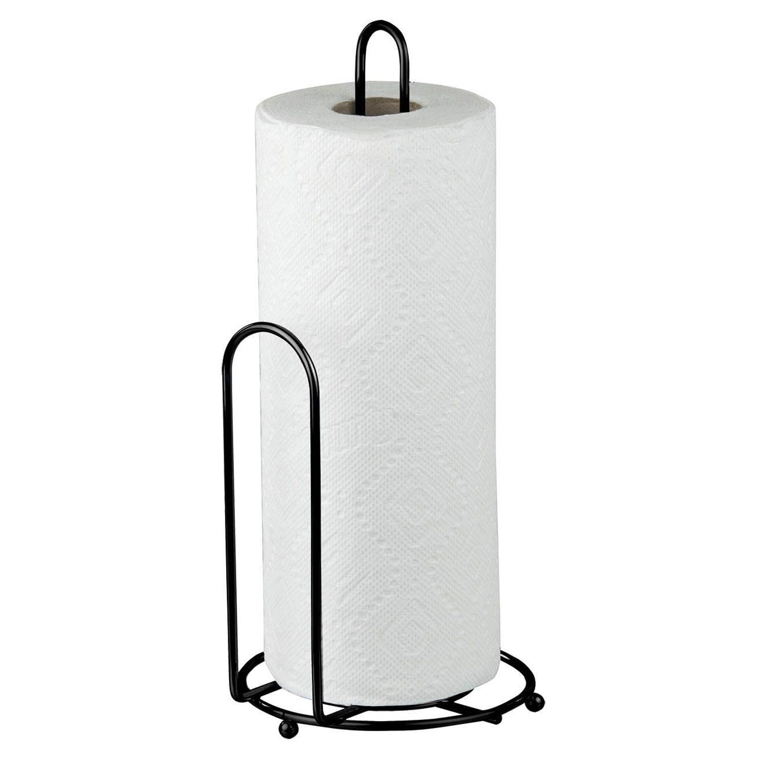 Sweet Home Collection Black Countertop Paper Towel Holder On Free Shipping Orders Over 45 19548770