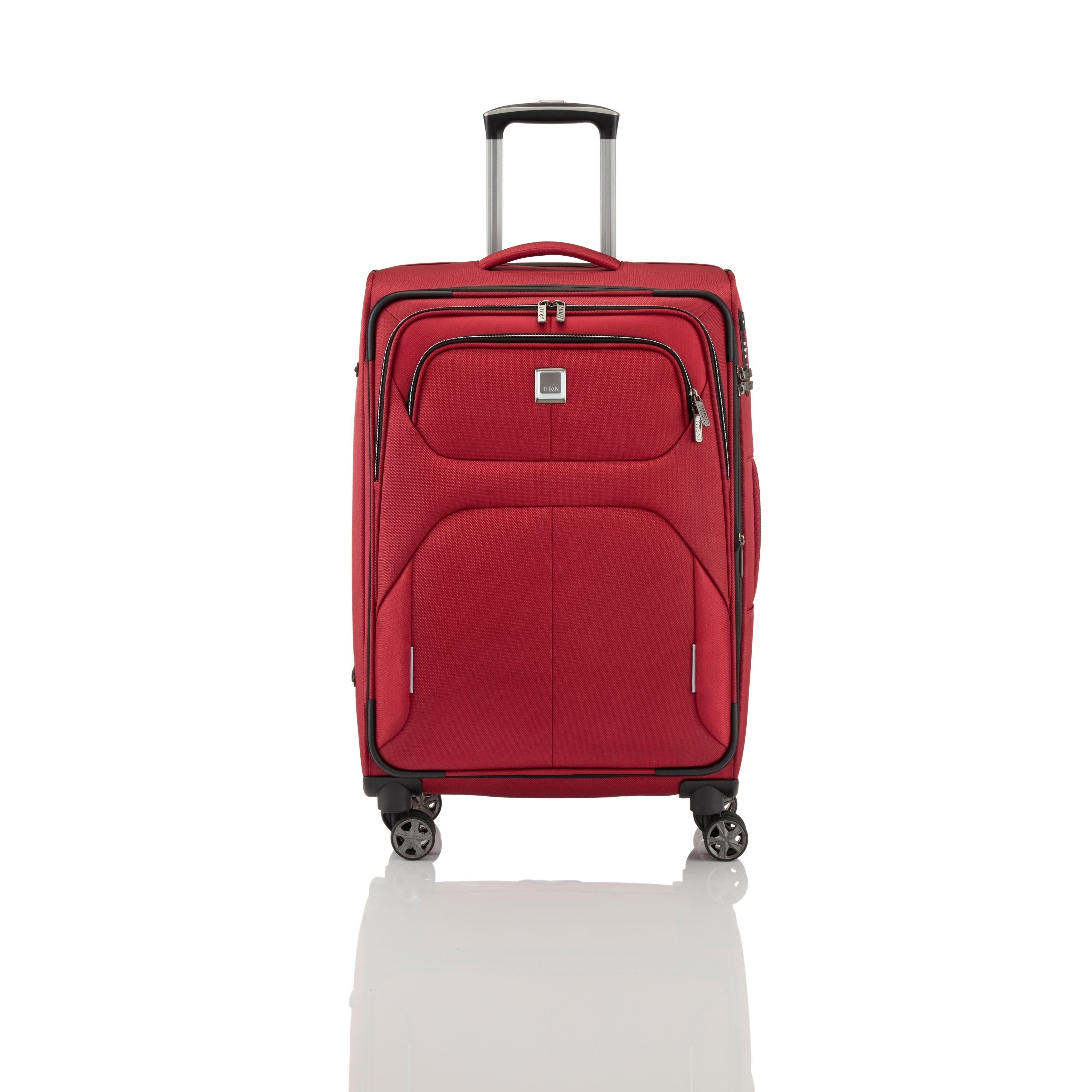 faa6a0c08a1c TITAN NONSTOP Medium Lightweight Spinner Expandable Suitcase 27
