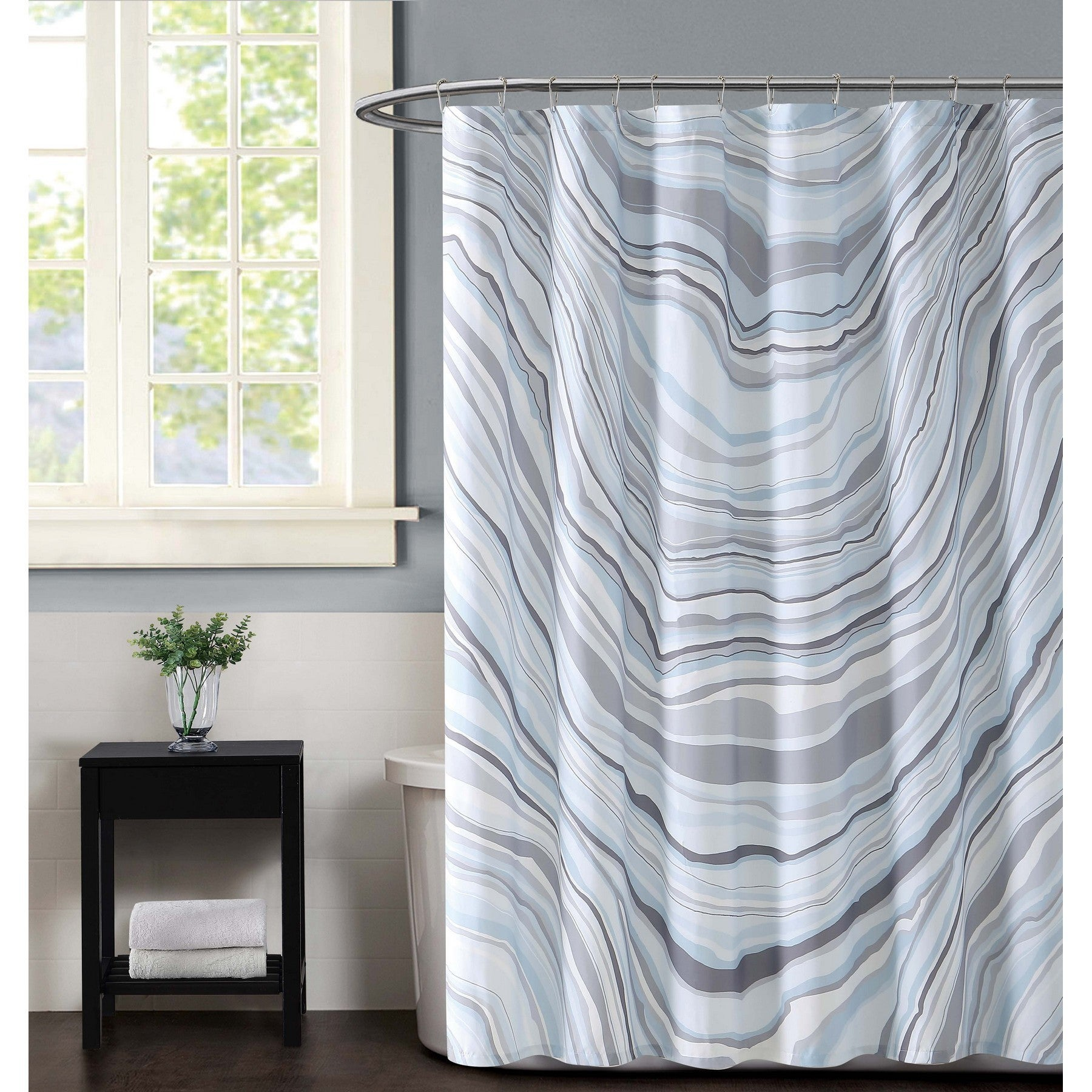 Shop Vince Camuto Valero Shower Curtain - Free Shipping Today ...